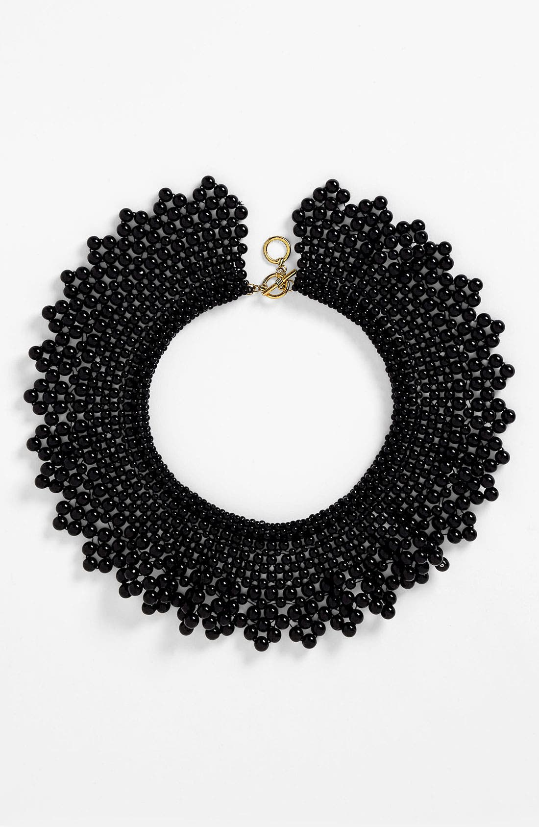 Main Image - Natasha Couture Beaded Collar Necklace