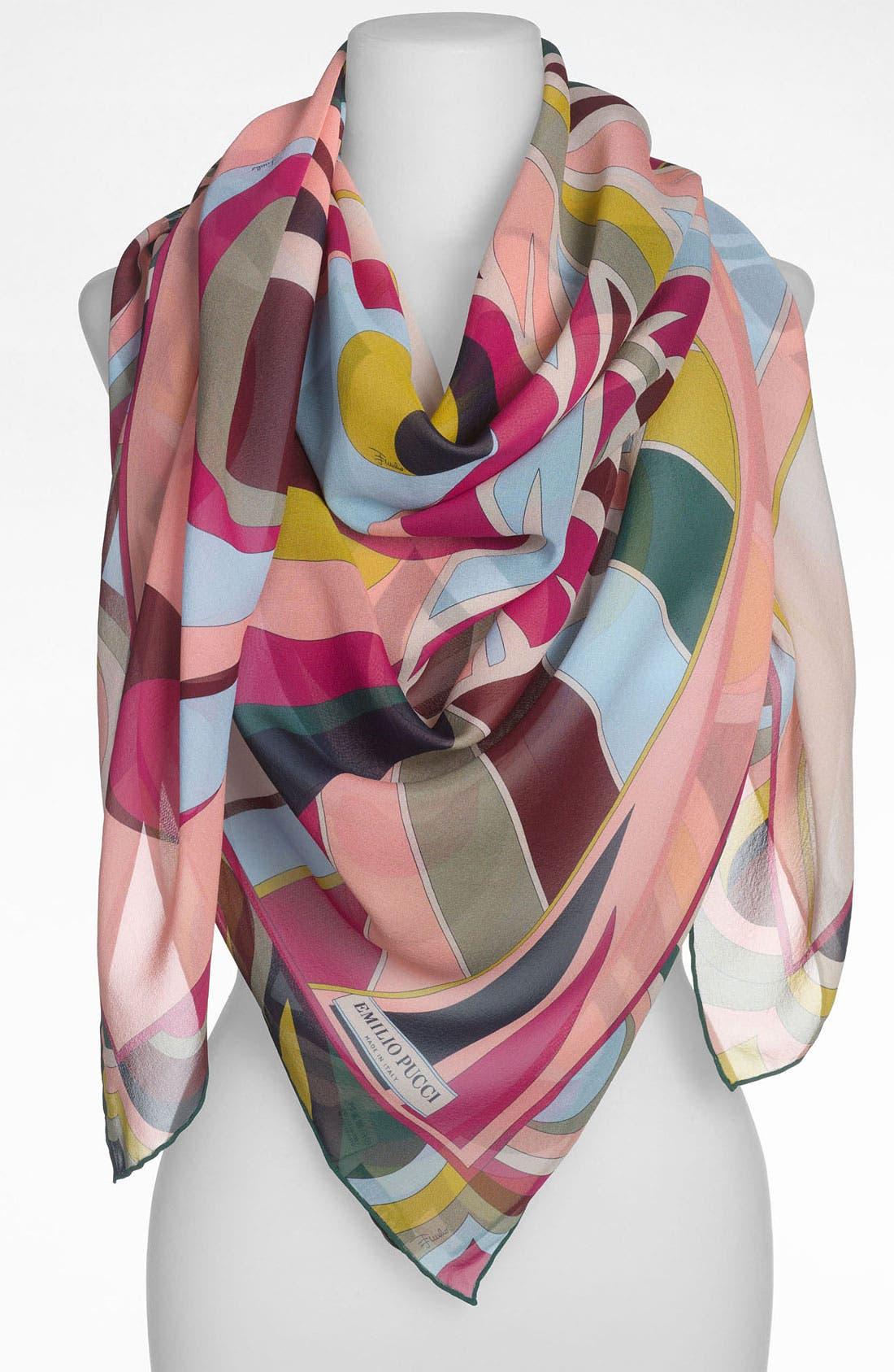 Main Image - Emilio Pucci 'One Profile Timeless' Silk Scarf