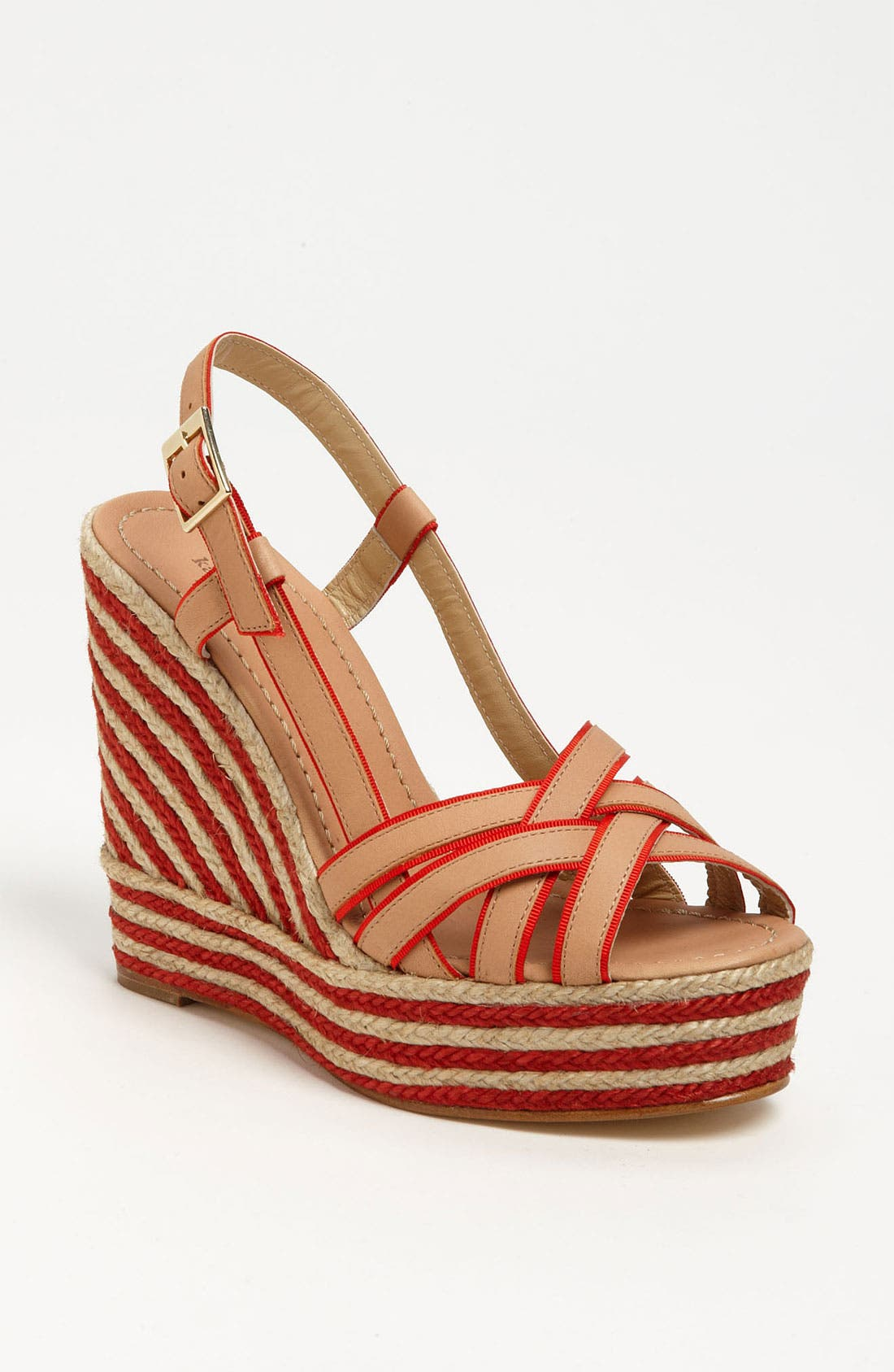 Alternate Image 1 Selected - kate spade new york 'ladan' wedge sandal