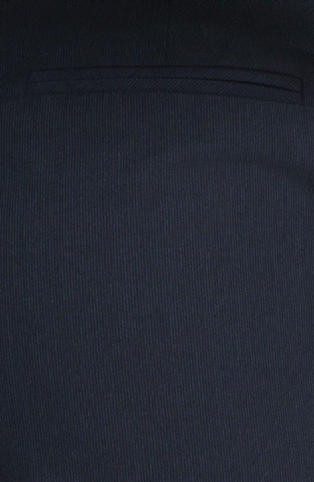 Alternate Image 3  - Halogen 'Taylor' Pinstripe Curvy Fit Pants