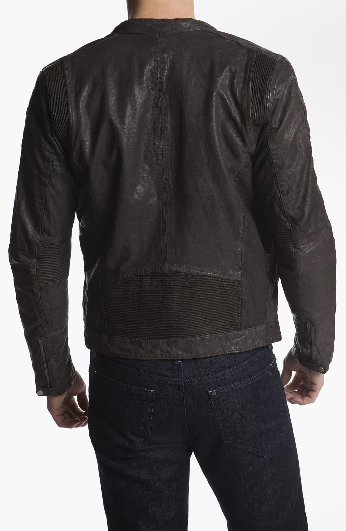 Alternate Image 2  - DIESEL® 'Lumi' Leather Jacket