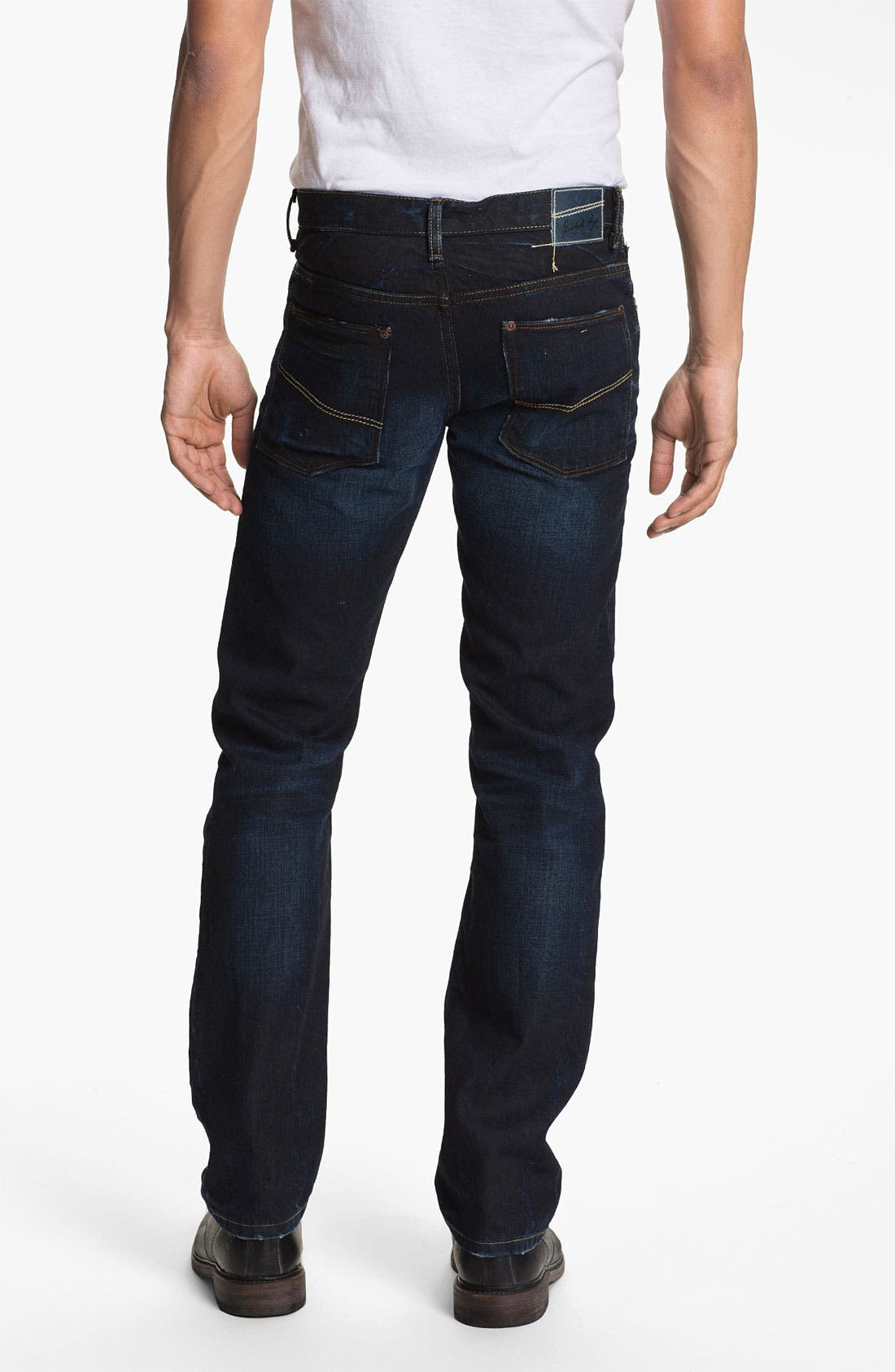 Alternate Image 1 Selected - Gilded Age 'Gotham' Slim Straight Leg Jeans (Dark Wash)