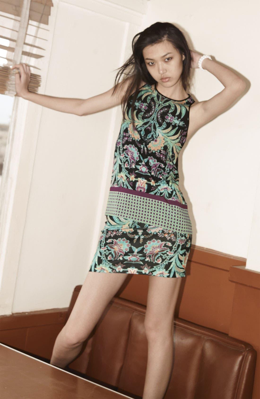 Alternate Image 5  - Dream Daily 'Nomadic Flowers' Skirt