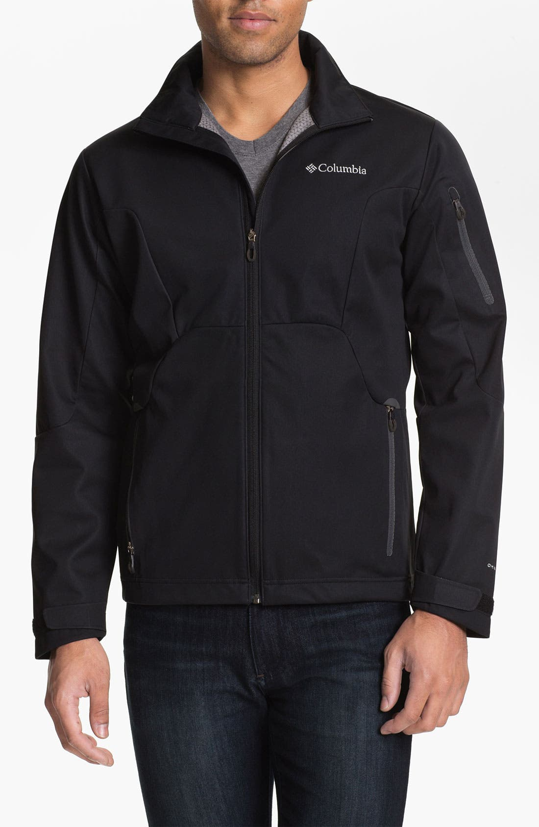 Alternate Image 1 Selected - Columbia 'Million Air™' Soft Shell Jacket