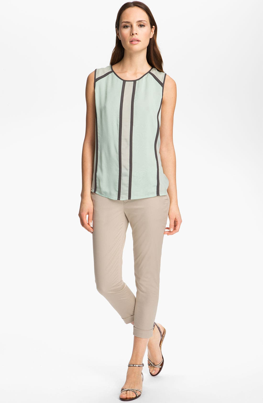Alternate Image 1 Selected - J Brand Ready-to-Wear 'Isabella' Chiffon Top