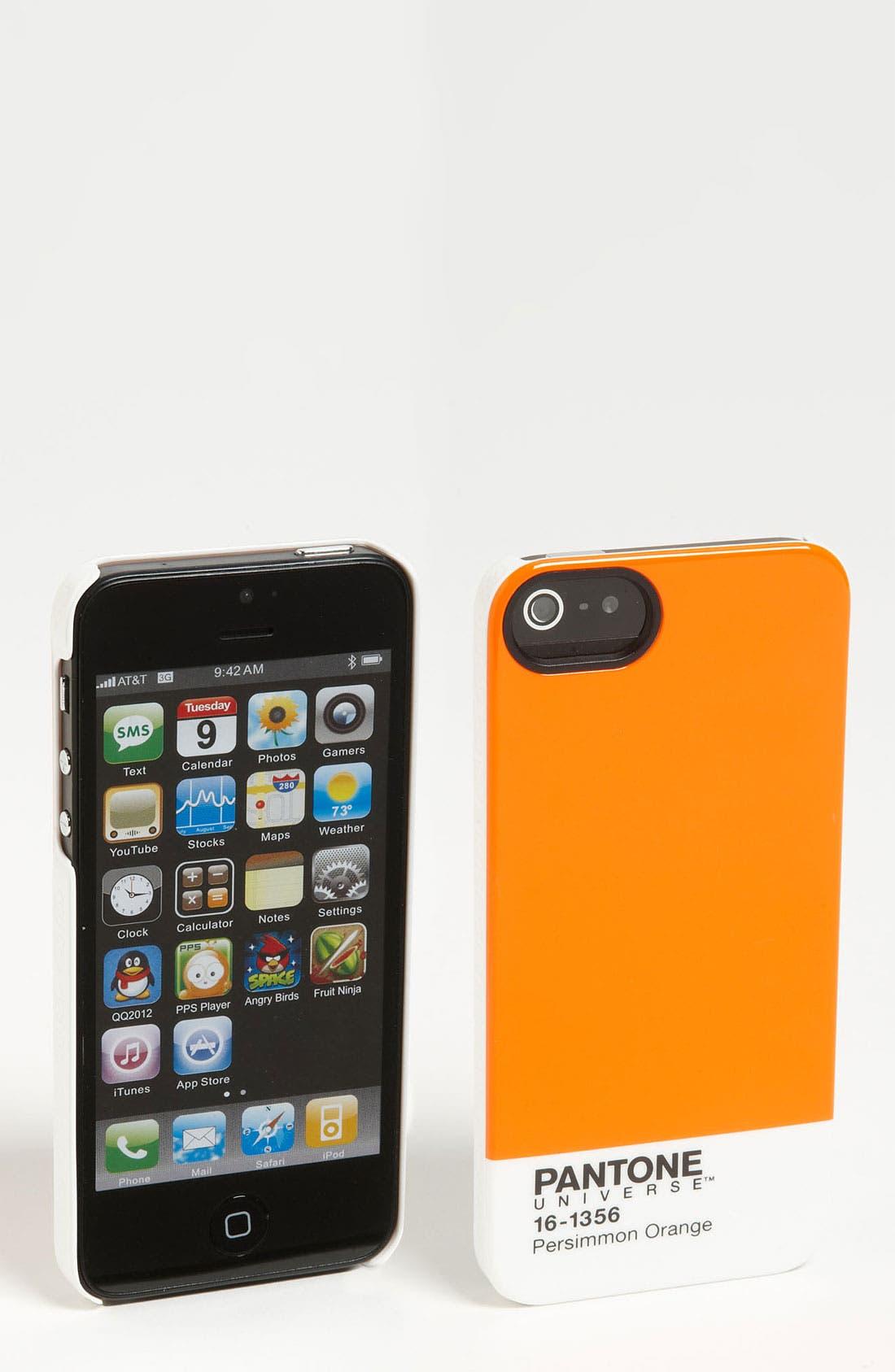 Alternate Image 1 Selected - Case Scenario 'Pantone® Universe' iPhone 5 Case