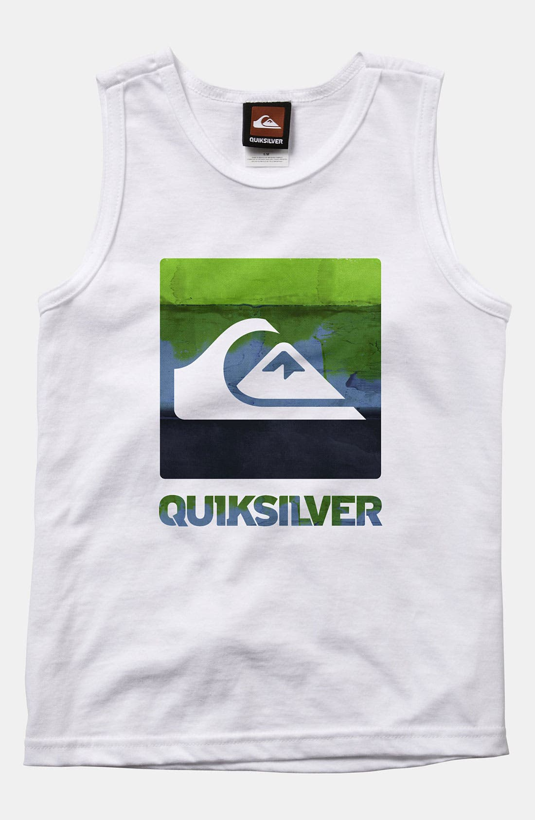 Alternate Image 1 Selected - Quiksilver 'Chaos' Tank Top (Little Boys)