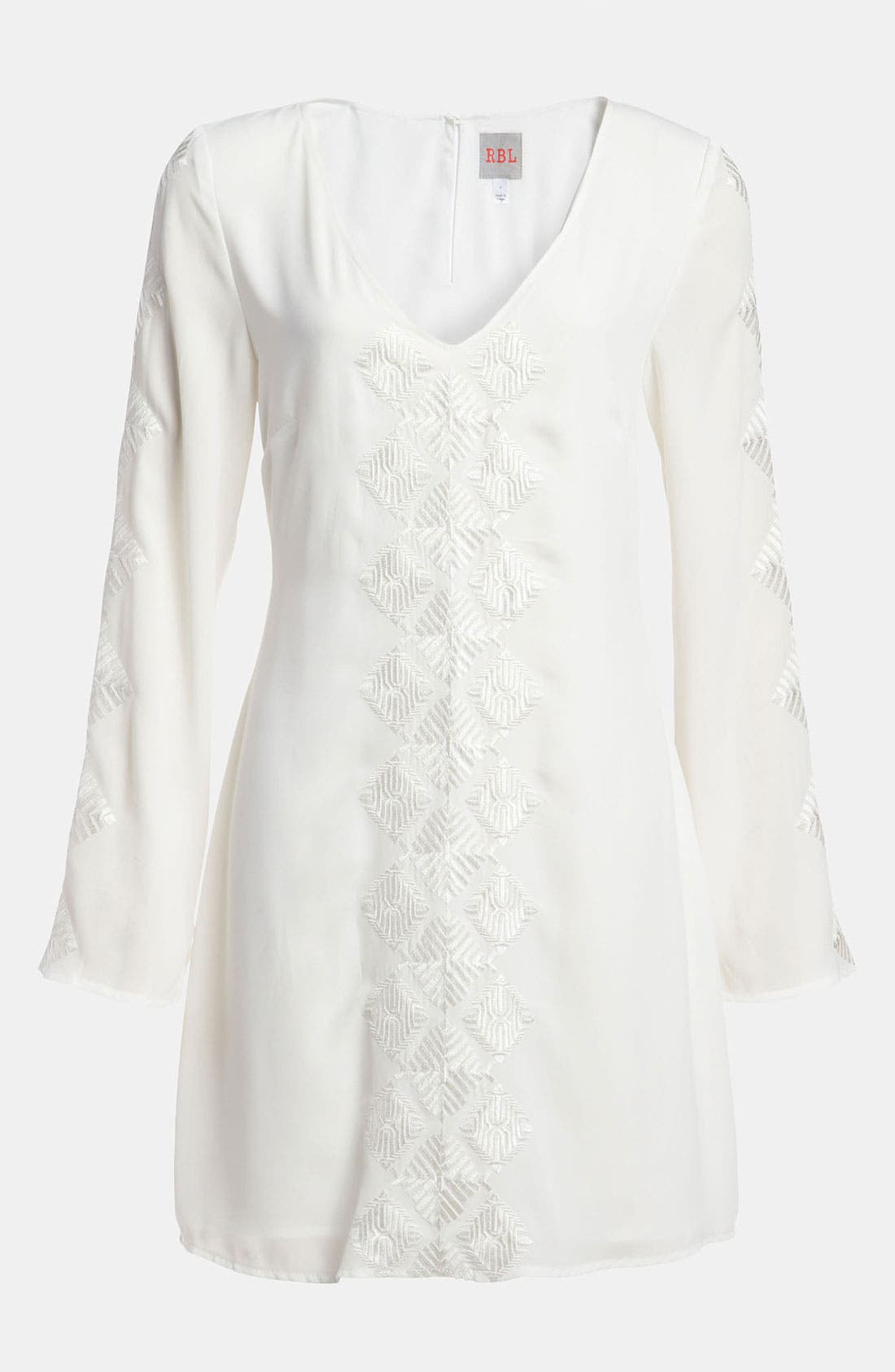 Alternate Image 1 Selected - RBL Embroidered Shift Dress
