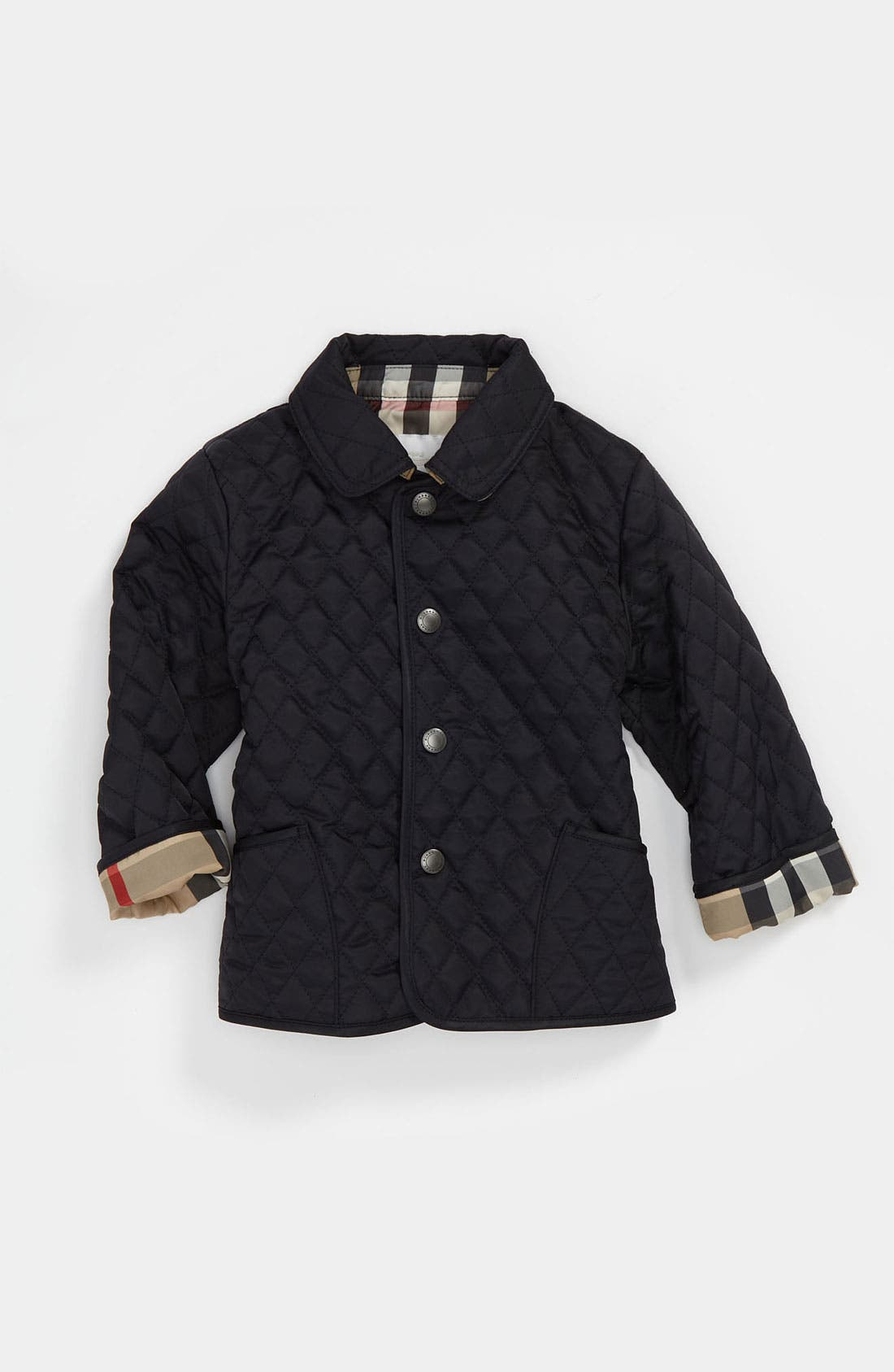 Alternate Image 1 Selected - Burberry Quilted Jacket (Baby)