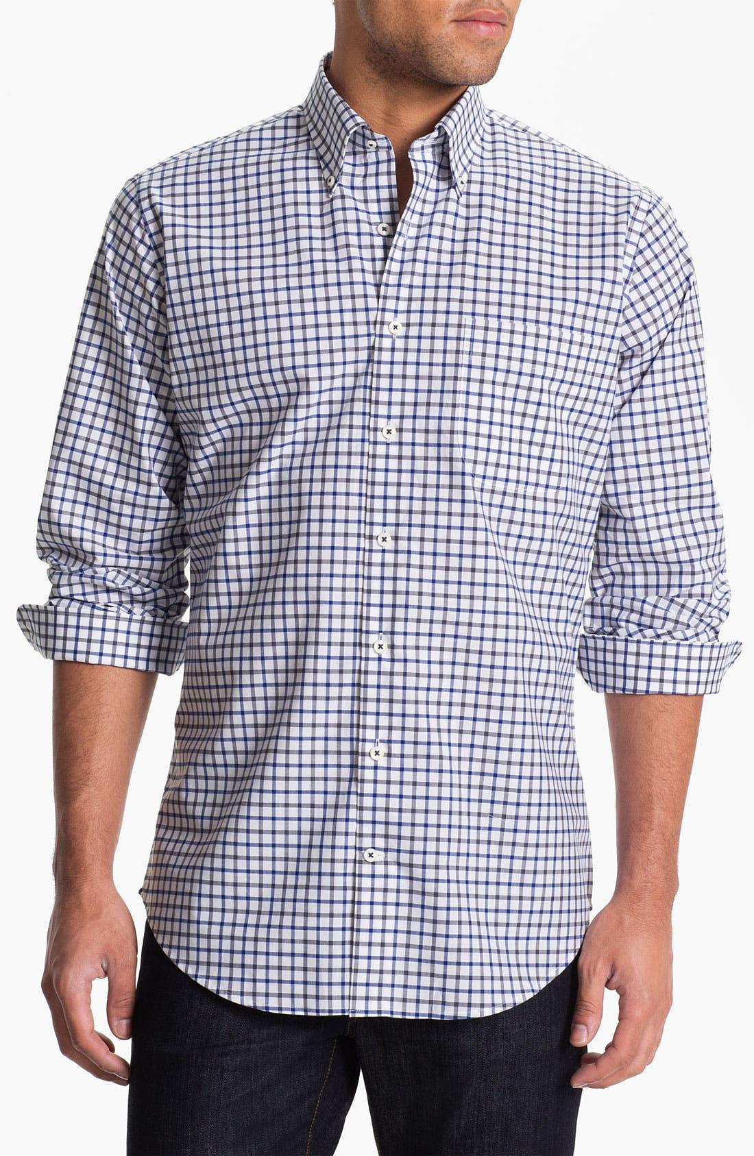 Alternate Image 1 Selected - Peter Millar 'Athens' Regular Fit Sport Shirt