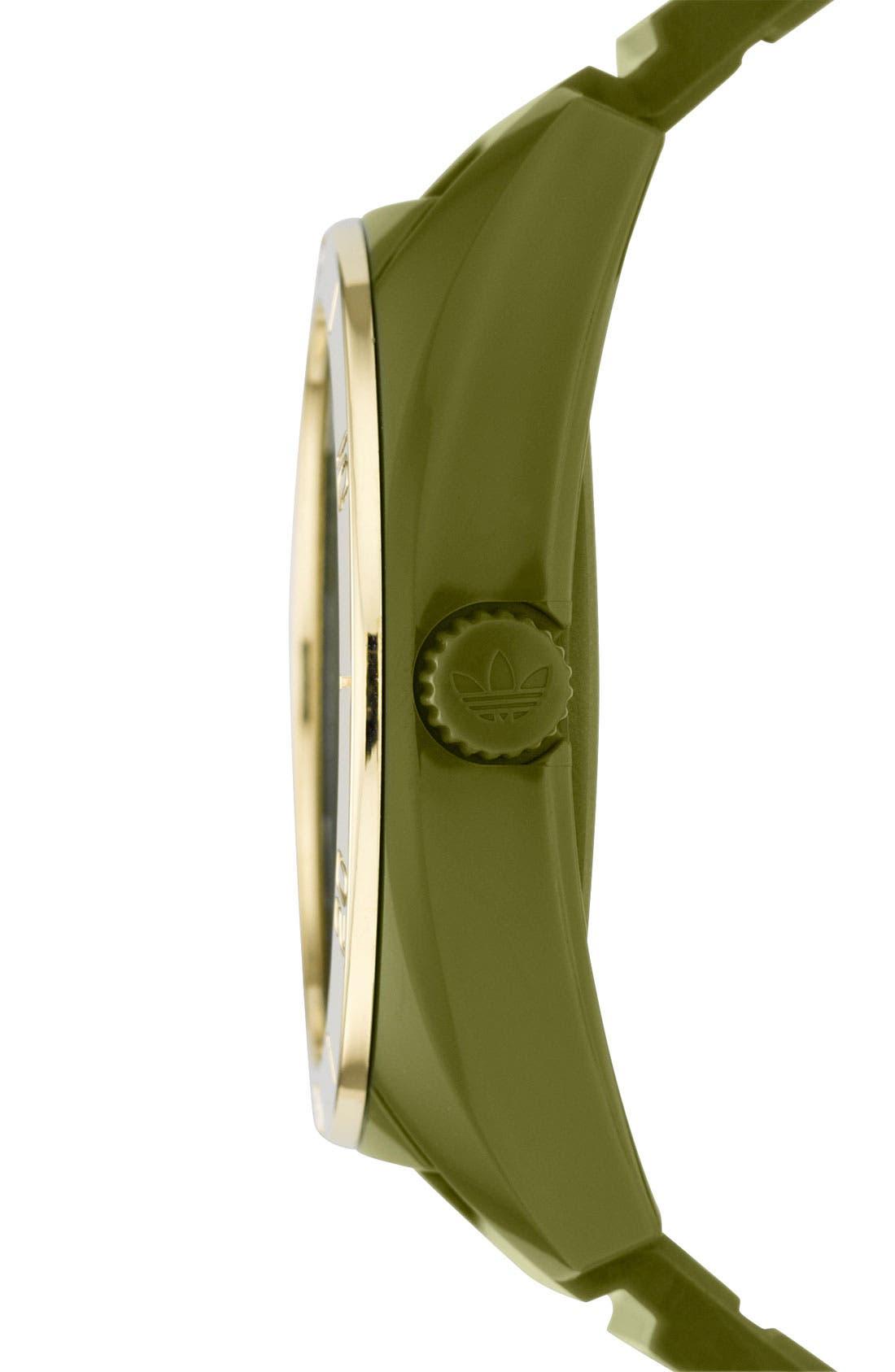 Alternate Image 2  - adidas Originals 'Santiago' Polyurethane Strap Watch
