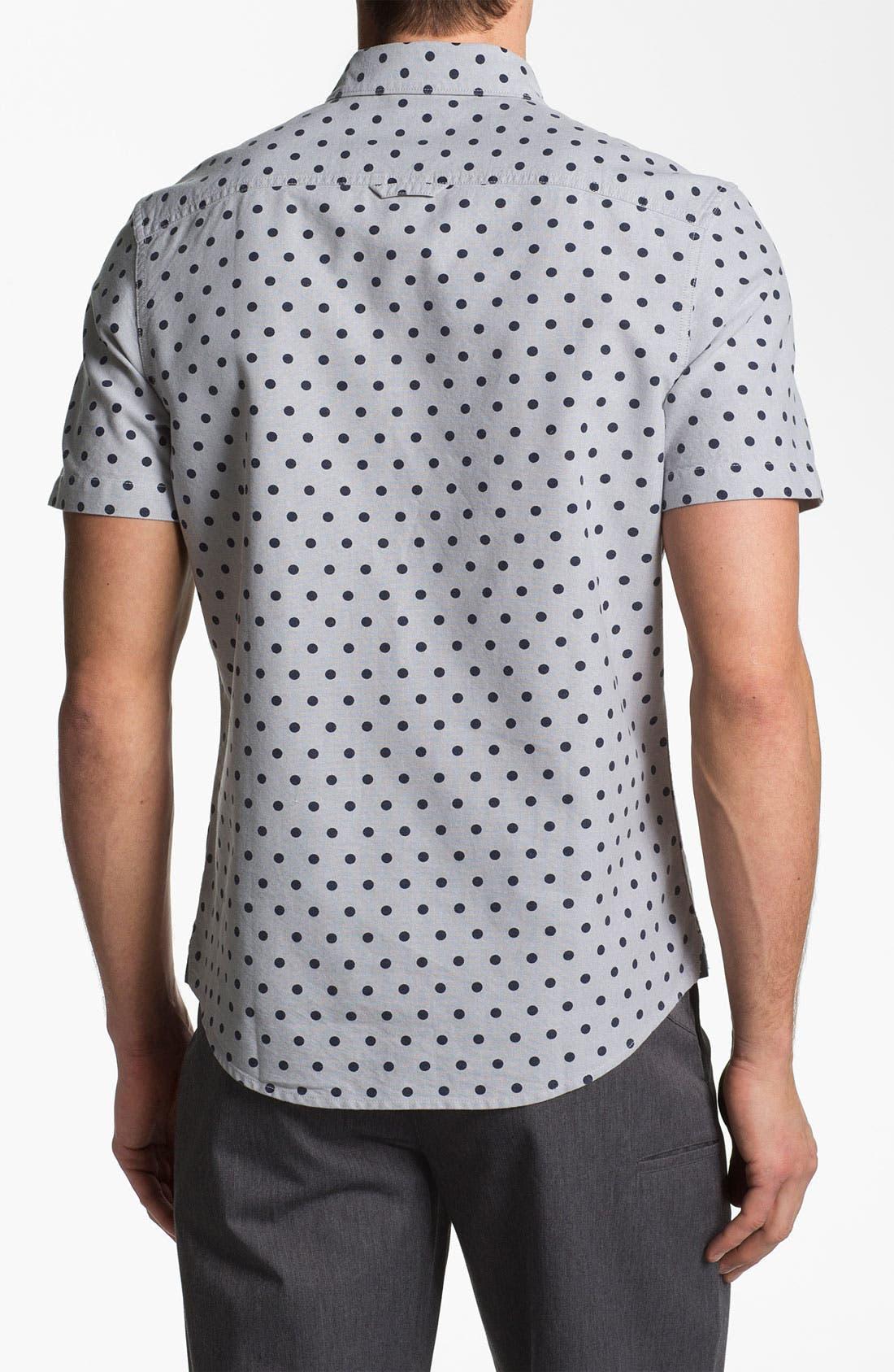 Alternate Image 3  - 1901 Pattern Print Oxford Shirt