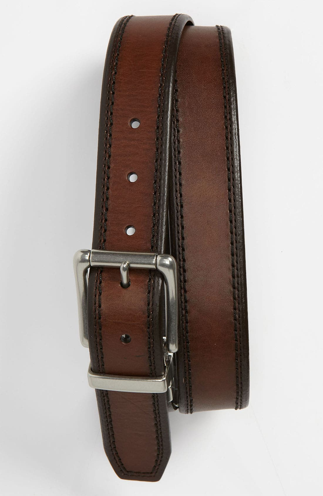 Alternate Image 1 Selected - Fossil 'Derek' Reversible Leather Belt