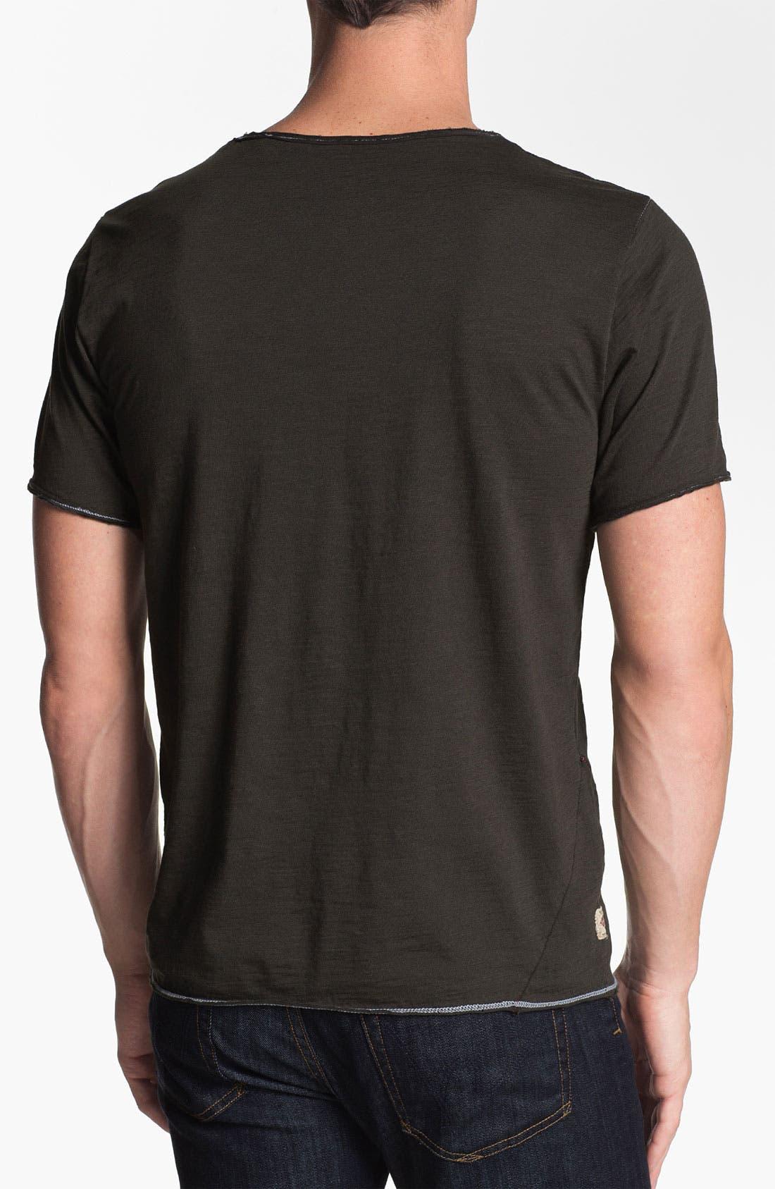 Alternate Image 2  - Jeremiah 'Izaak' Slub T-Shirt