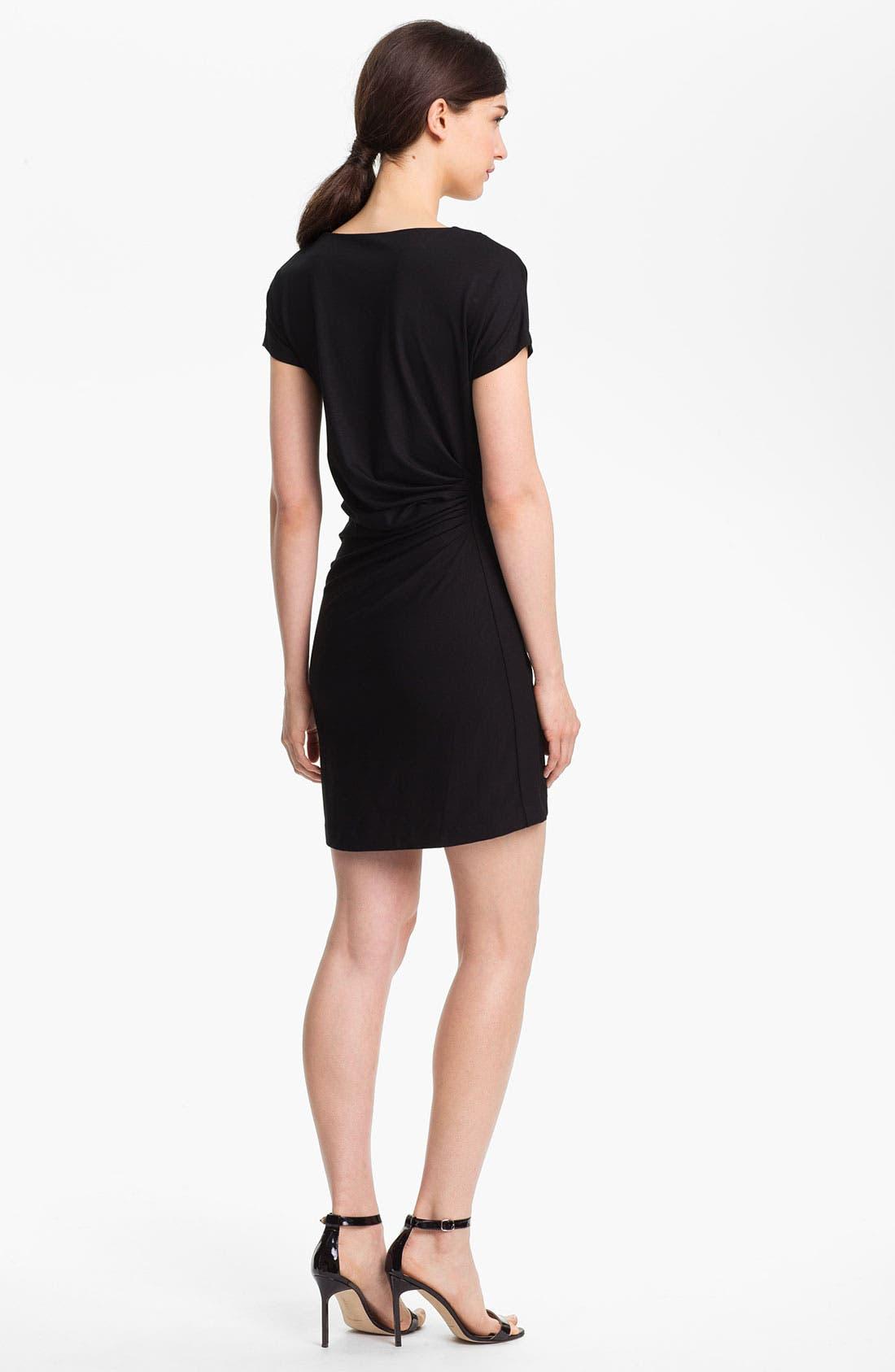 Alternate Image 2  - Diane von Furstenberg Stretch Sheath Dress