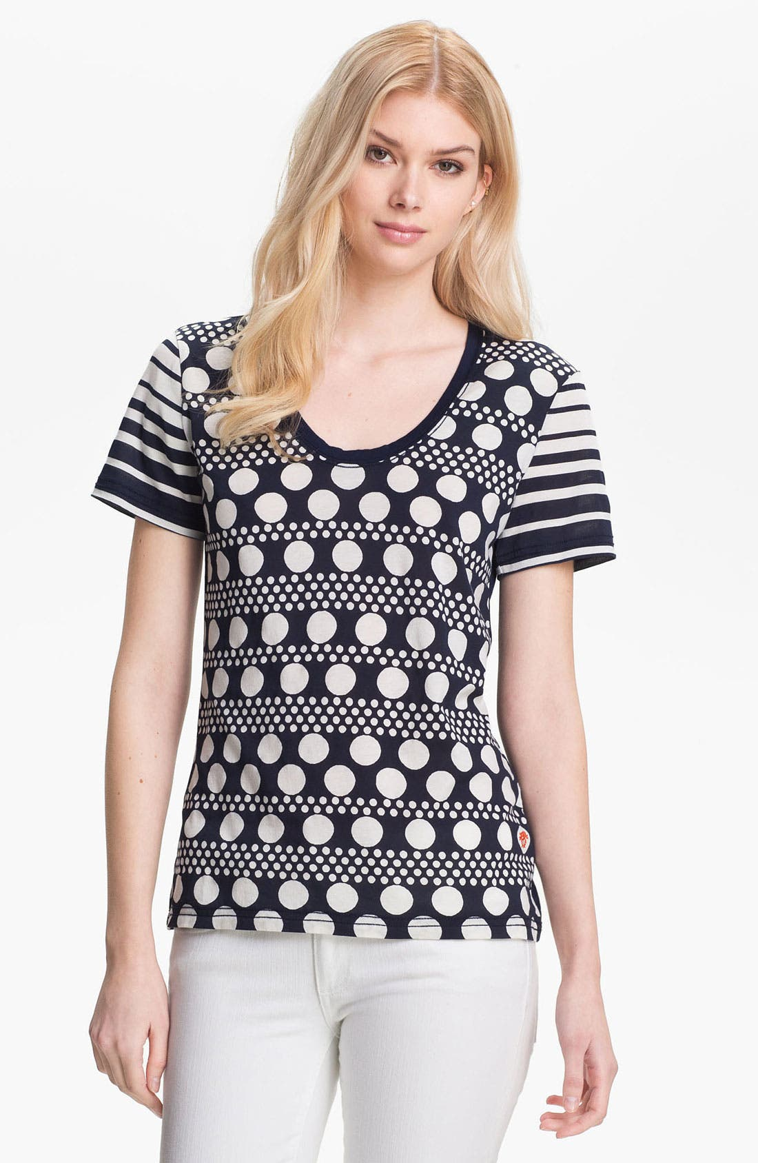 Alternate Image 1 Selected - Tory Burch 'Karin' Tee