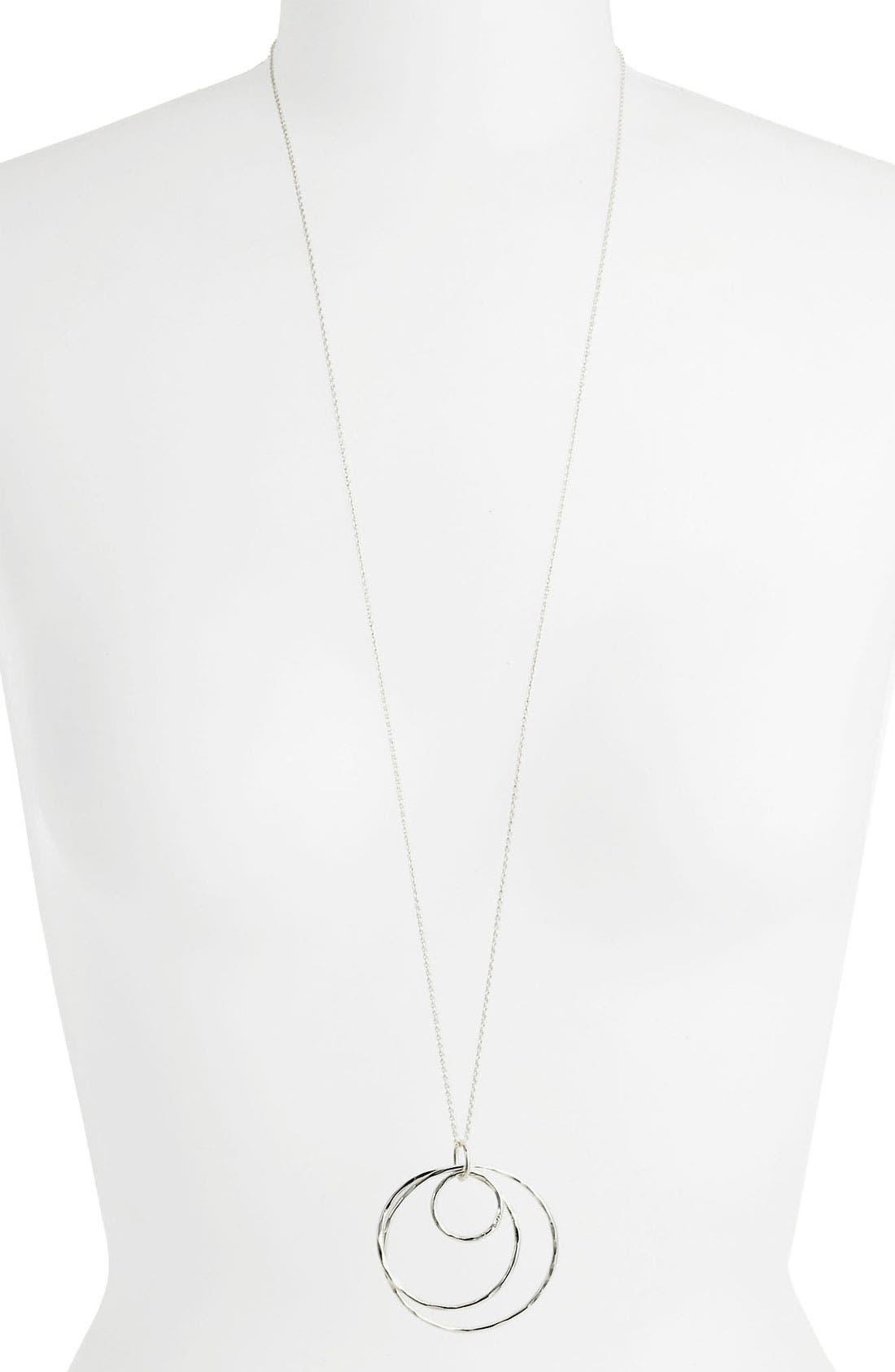Main Image - Argento Vivo Long Pendant Necklace