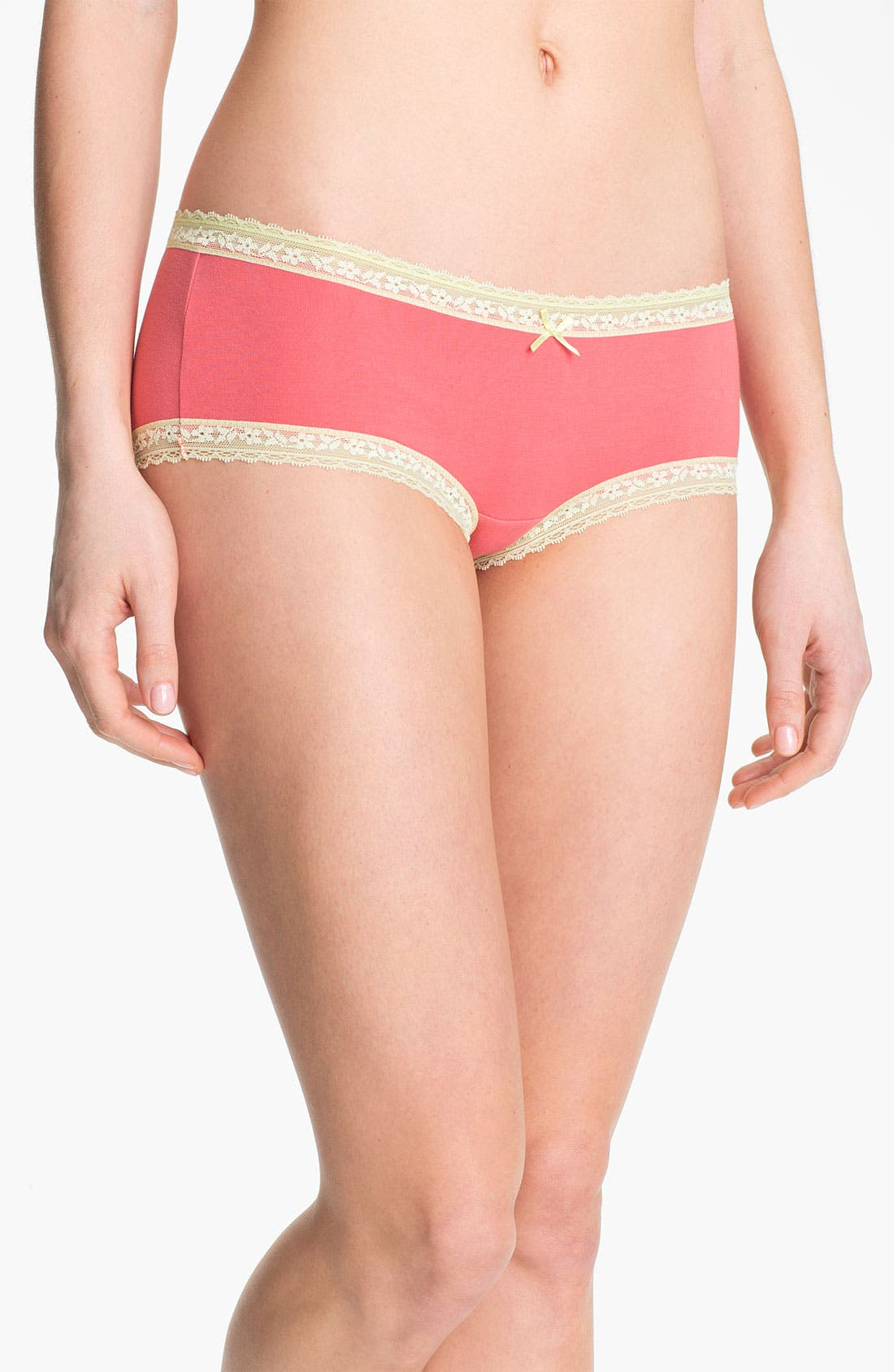 Alternate Image 1 Selected - DKNY 'Delicate Essentials' Hipster Briefs