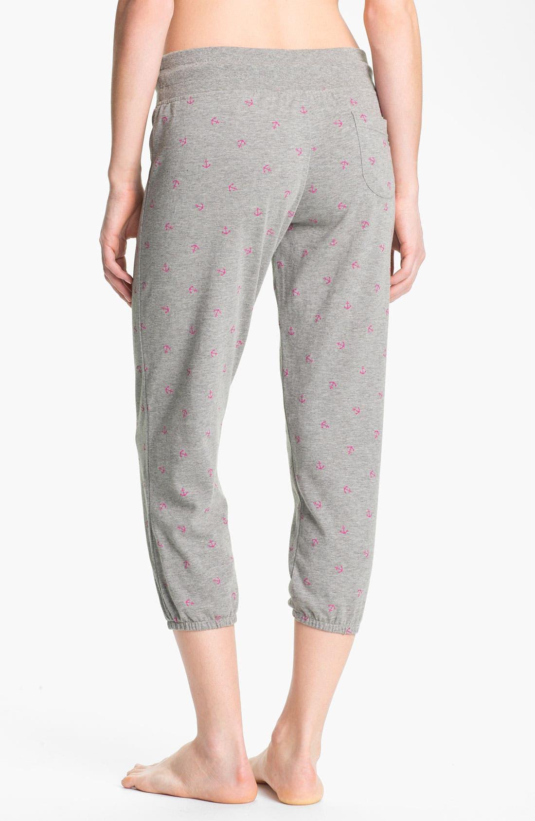 Alternate Image 2  - Roxy 'Randomness' Cropped Fleece Pants