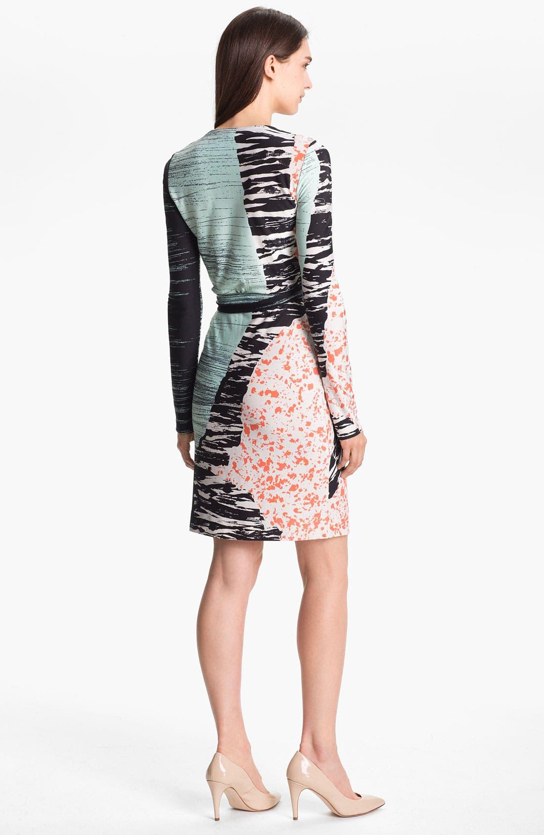 Alternate Image 2  - Diane von Furstenberg 'Valencia' Silk Wrap Dress
