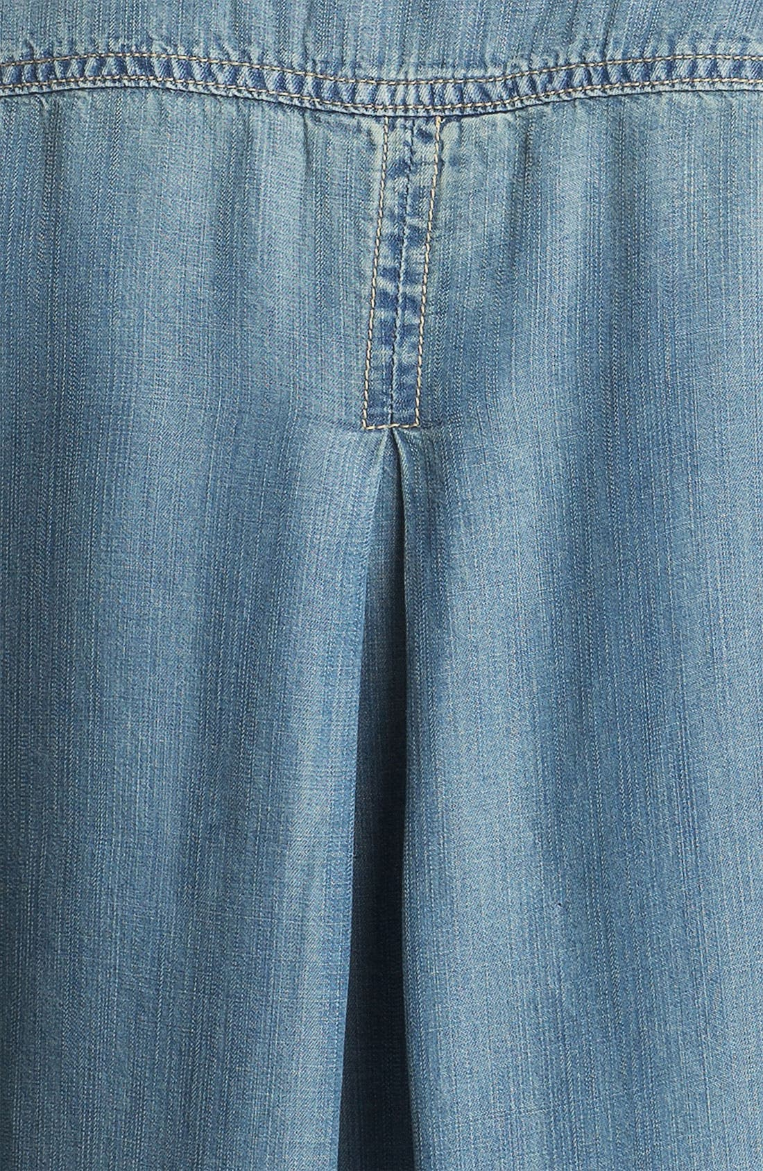 Alternate Image 3  - Side Stitch Chambray Shirt