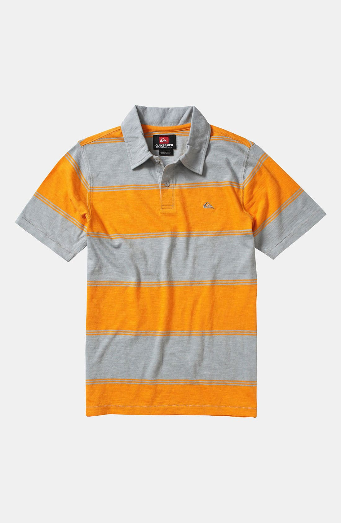 Alternate Image 1 Selected - Quiksilver Stripe Polo (Big Boys)