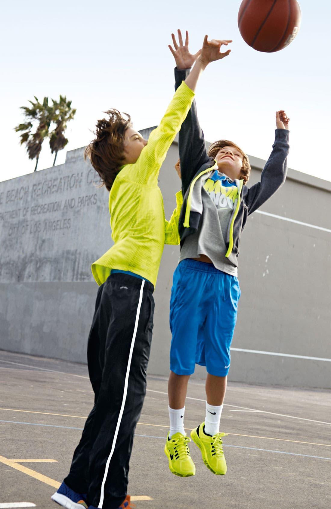 Alternate Image 2  - Nike Full Zip Hoodie (Big Boys)