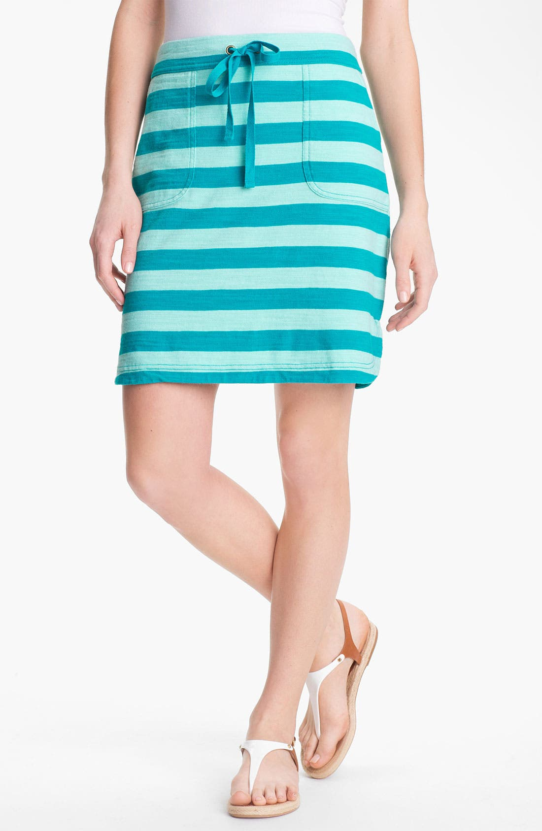 Alternate Image 1 Selected - Caslon Drawstring Skirt