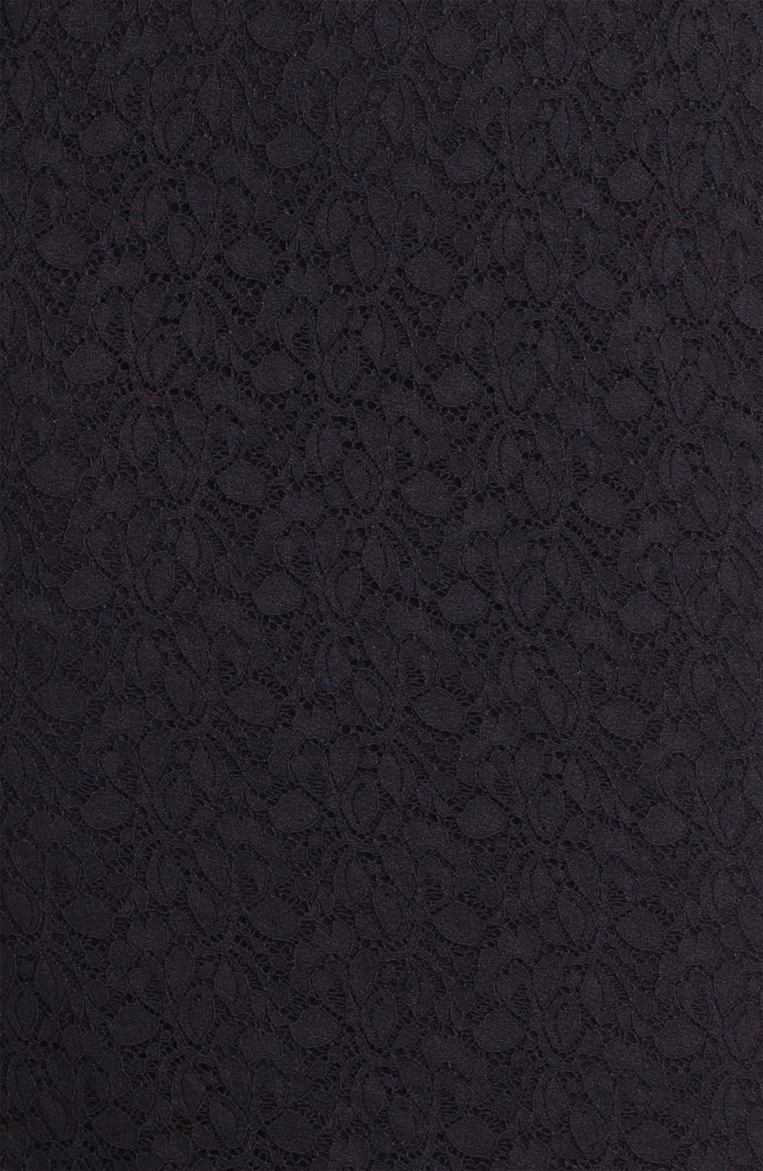Alternate Image 3  - Vince Camuto Lace Midi Skirt