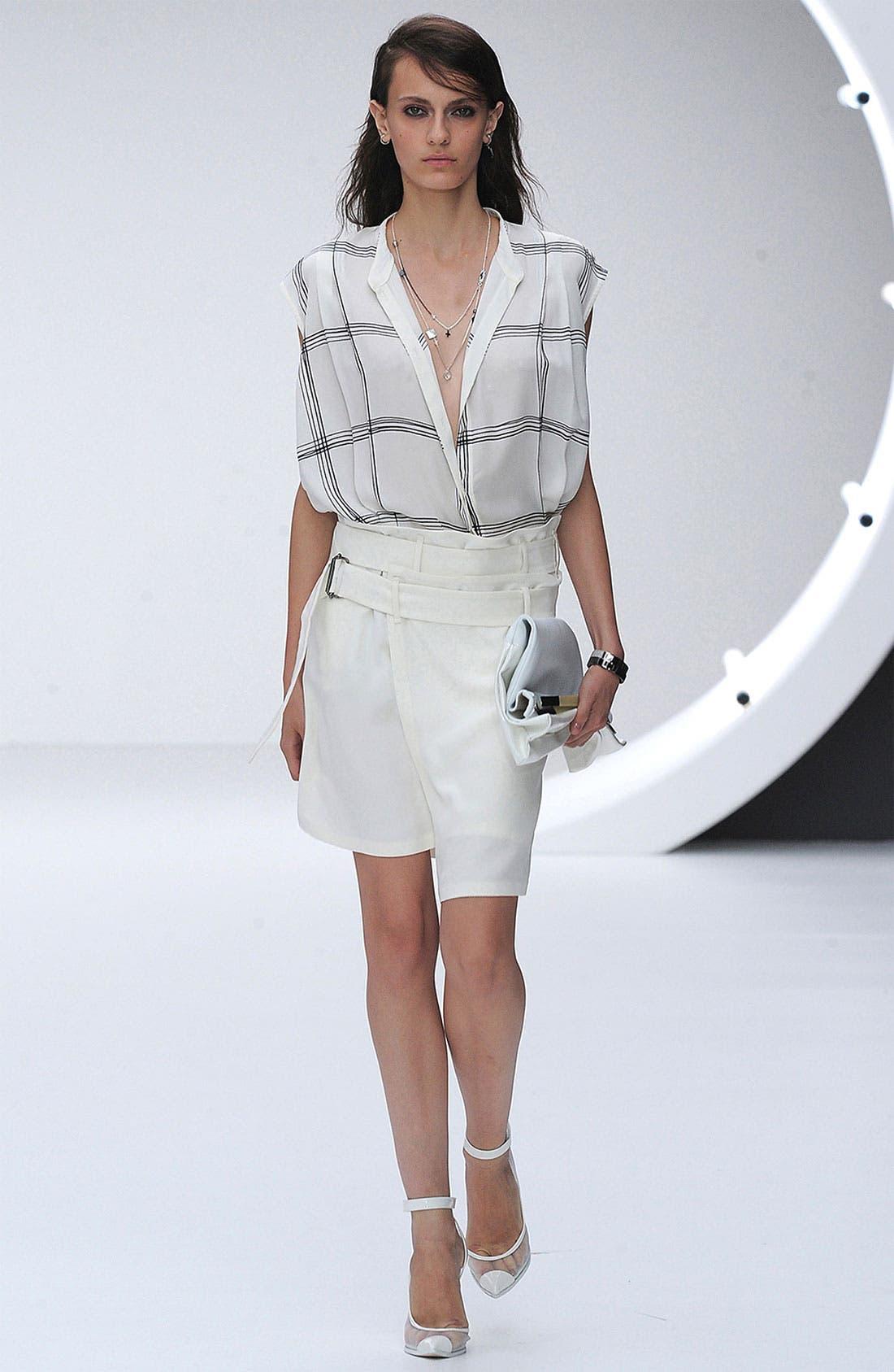Alternate Image 2  - Topshop Unique Silk Asymmetrical Wrap Skirt