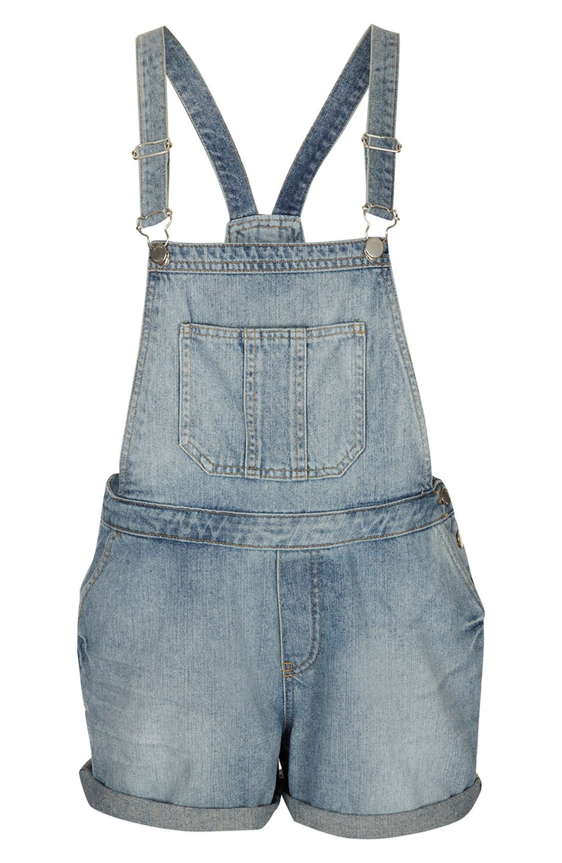 Main Image - Topshop Moto 'Tommy' Vintage Overalls