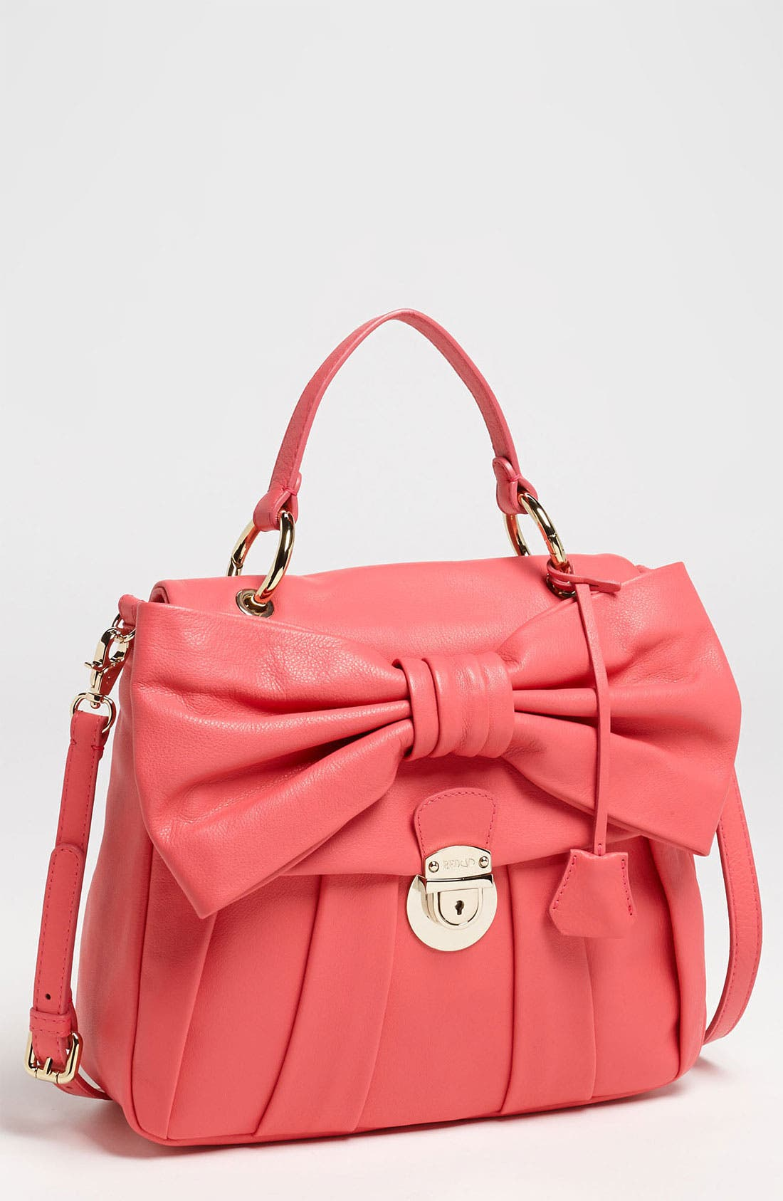 Main Image - RED Valentino 'Bow - Small' Leather Satchel