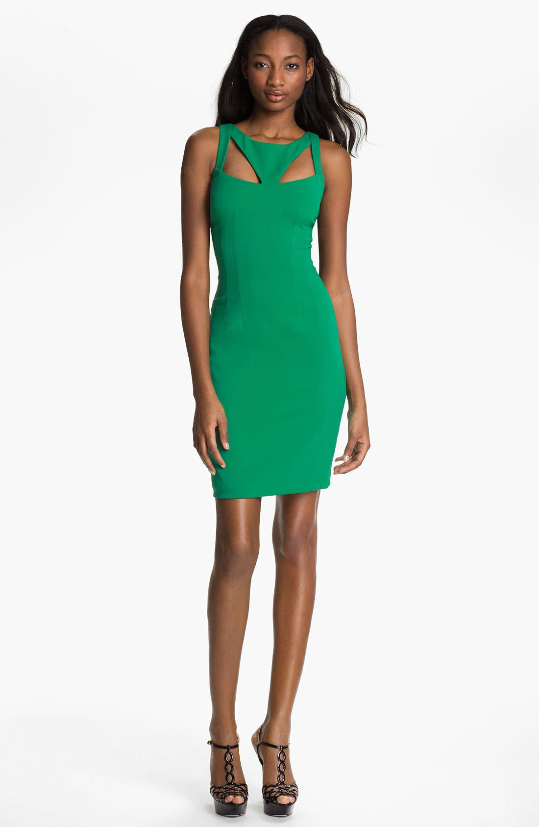 Alternate Image 1 Selected - Jay Godfrey 'Sahar' Cutout Sheath Dress (Nordstrom Exclusive)
