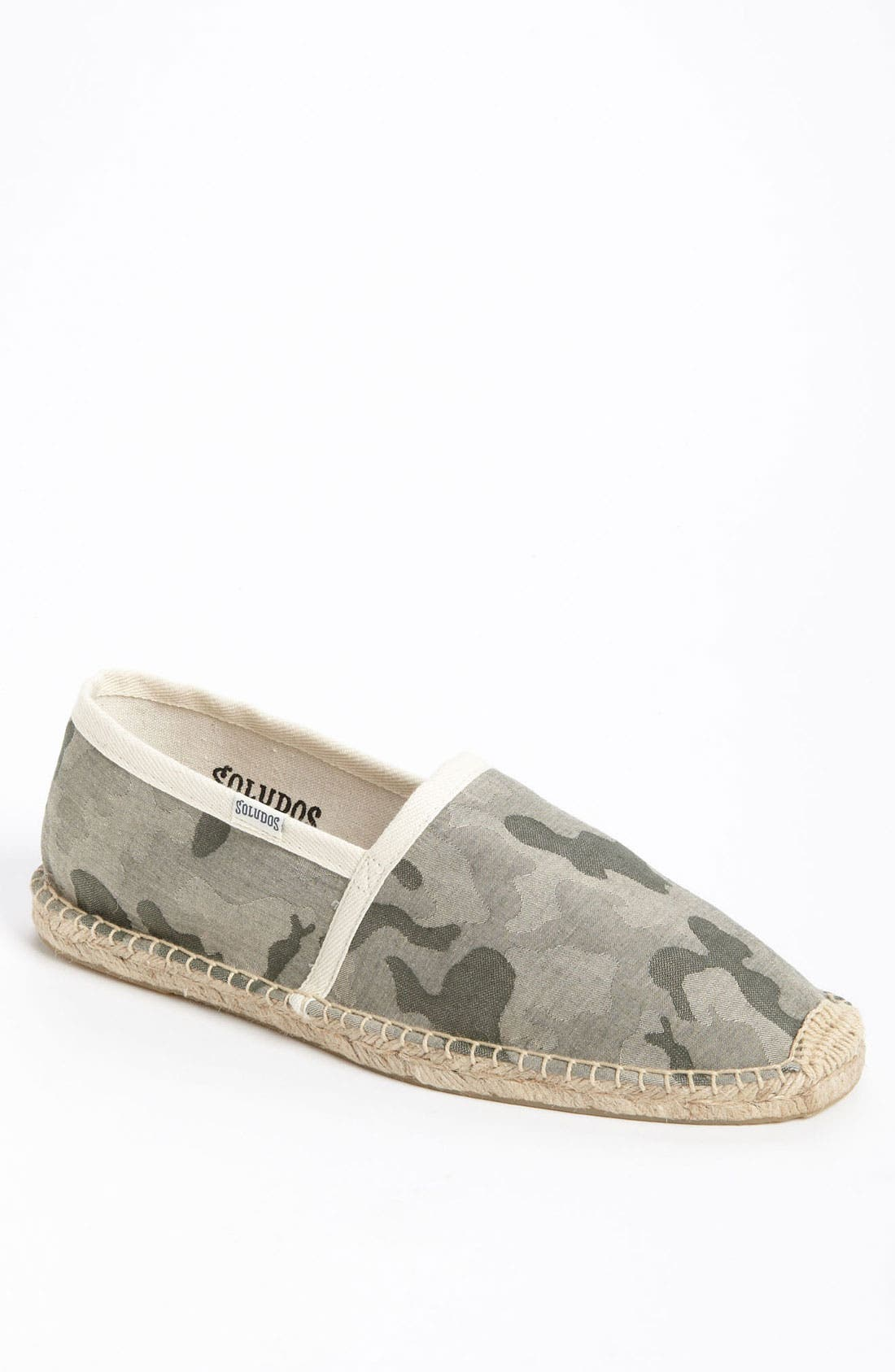 Alternate Image 1 Selected - Soludos Camo Espadrille Slip-On (Men)