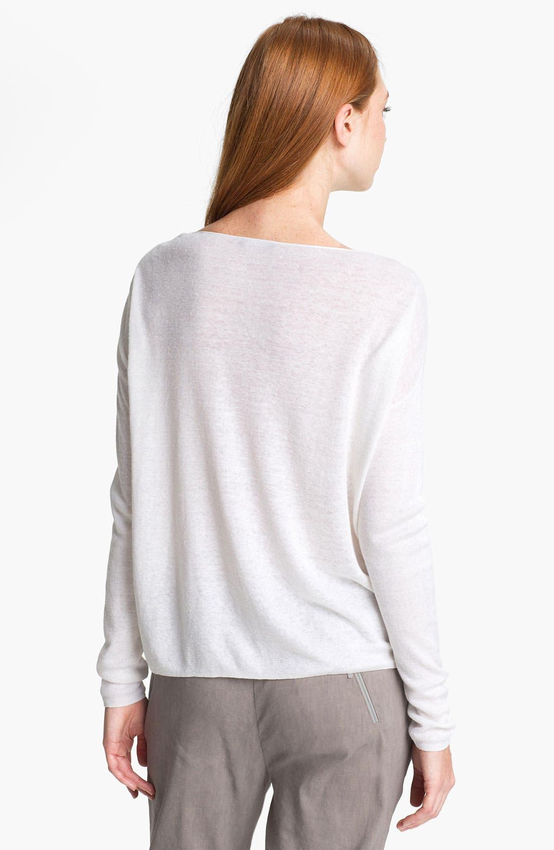 Alternate Image 2  - Theory 'Randelle' Crop Sweater