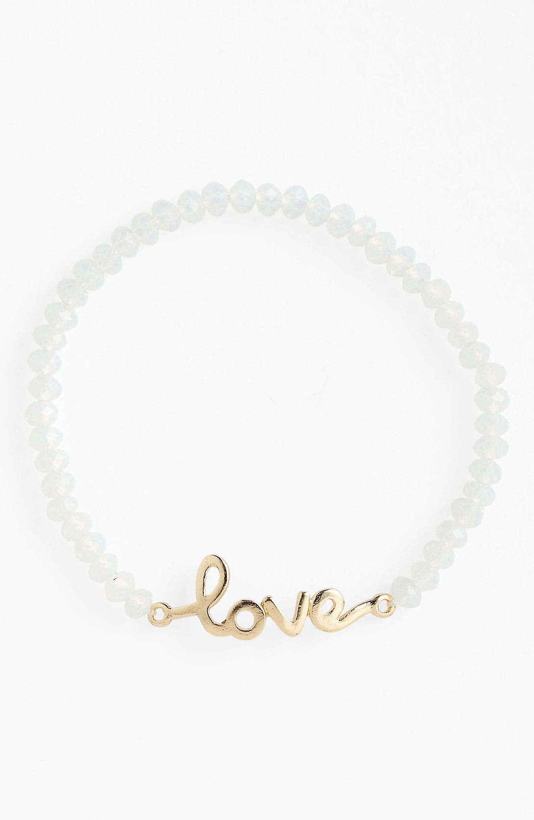 Alternate Image 1 Selected - Guinevere 'Love' Script Bracelet