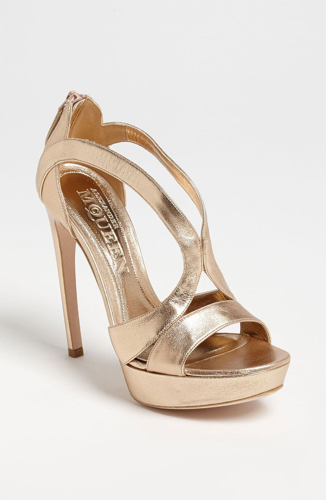 Alternate Image 1 Selected - Alexander McQueen Cutout Sandal