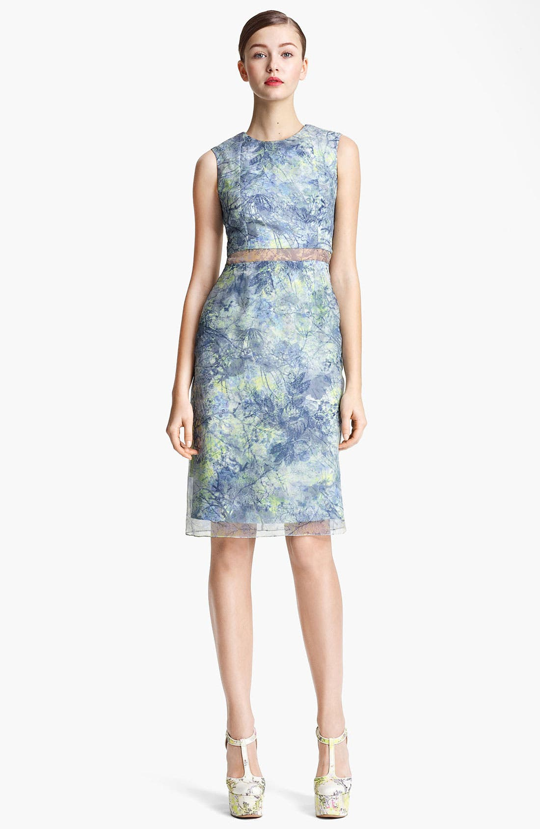 Main Image - Erdem 'Helena - Sache Print' Organza Dress
