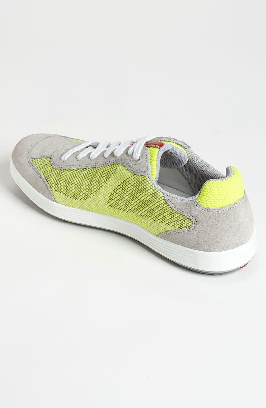 Alternate Image 2  - Prada Colored Mesh Sneaker