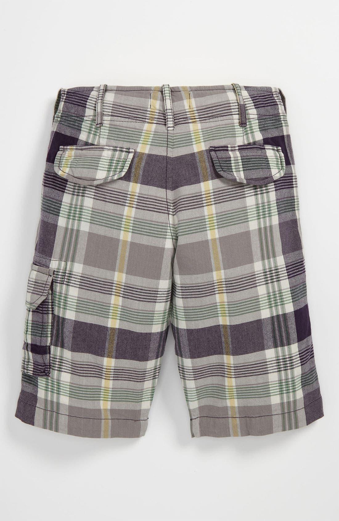 Alternate Image 2  - Peek 'Oxford' Plaid Shorts (Big Boys)