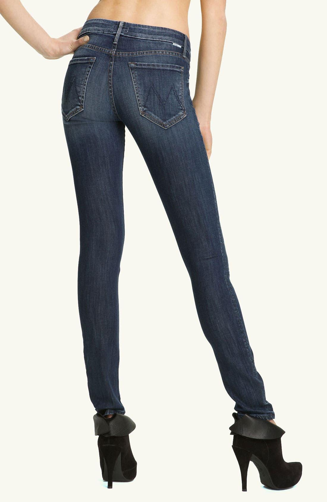 Alternate Image 2  - MOTHER 'The Looker' Skinny Stretch Jeans (Deja Vu)
