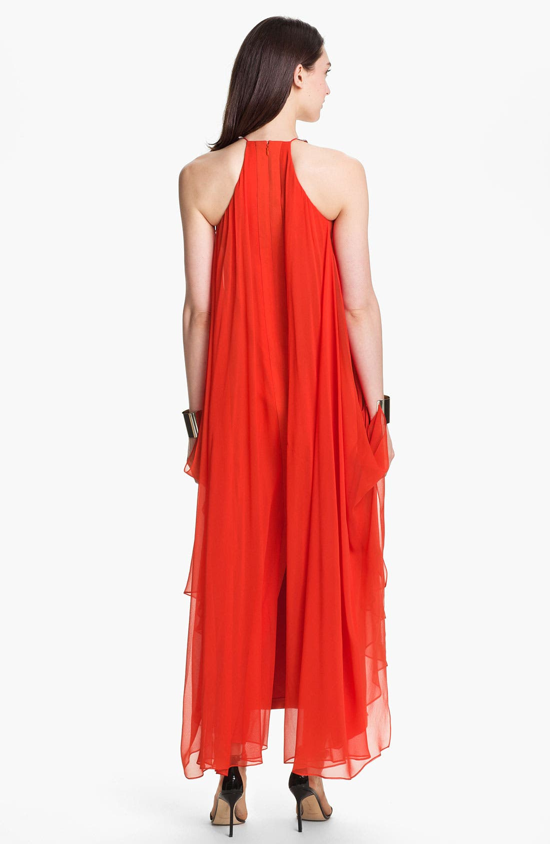 Alternate Image 2  - Diane von Furstenberg 'Yakira' Silk Halter Dress