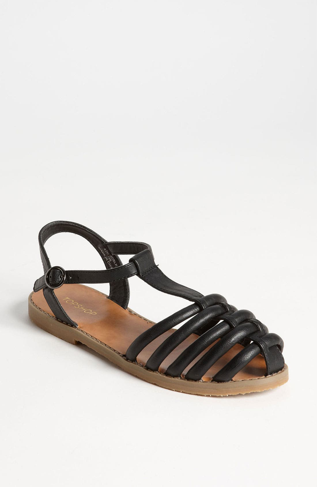 Alternate Image 1 Selected - Topshop 'Hampi' Caged Toe Fisherman Sandal