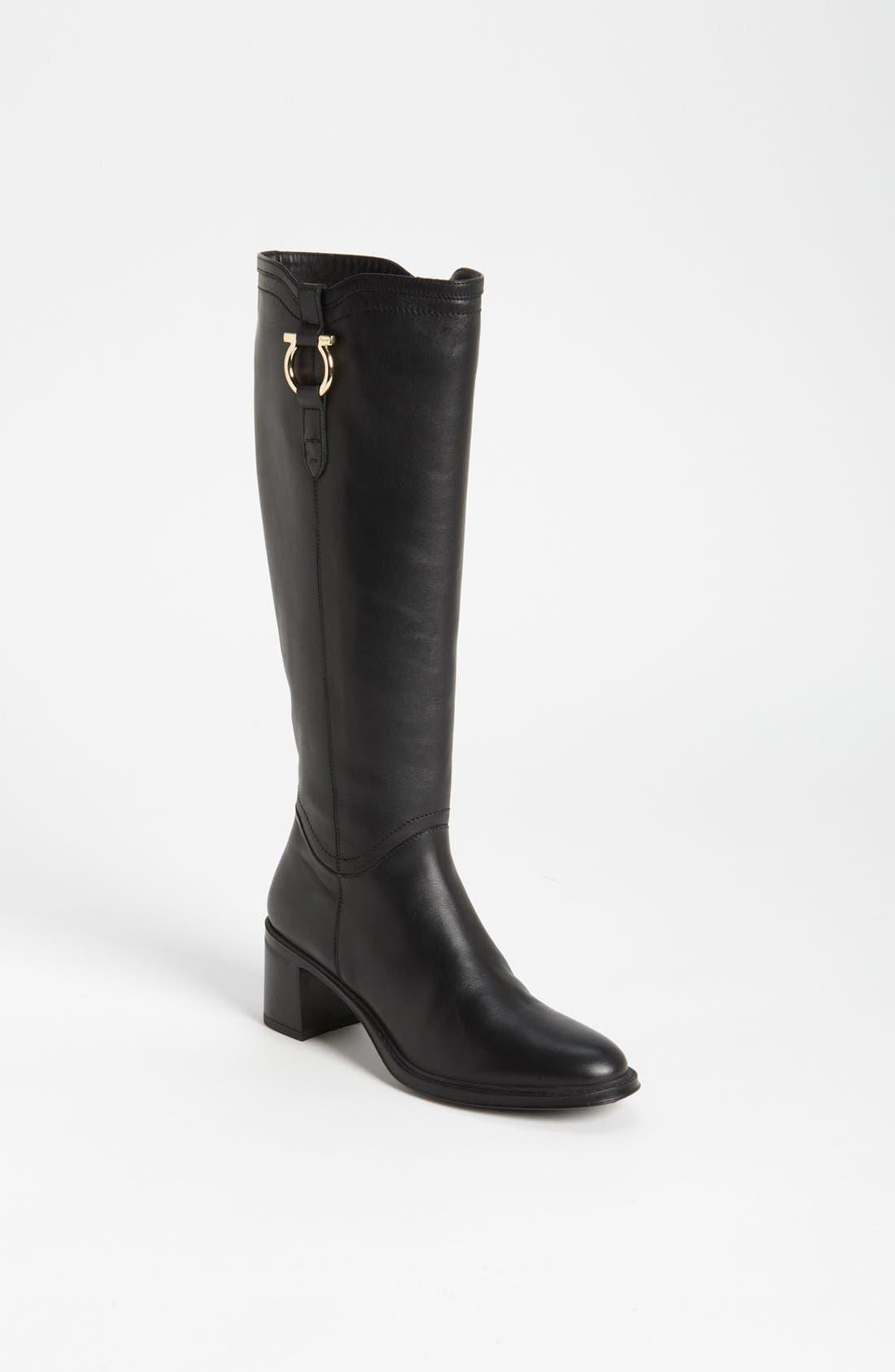 Alternate Image 1 Selected - Salvatore Ferragamo 'Fersea' Leather Boot