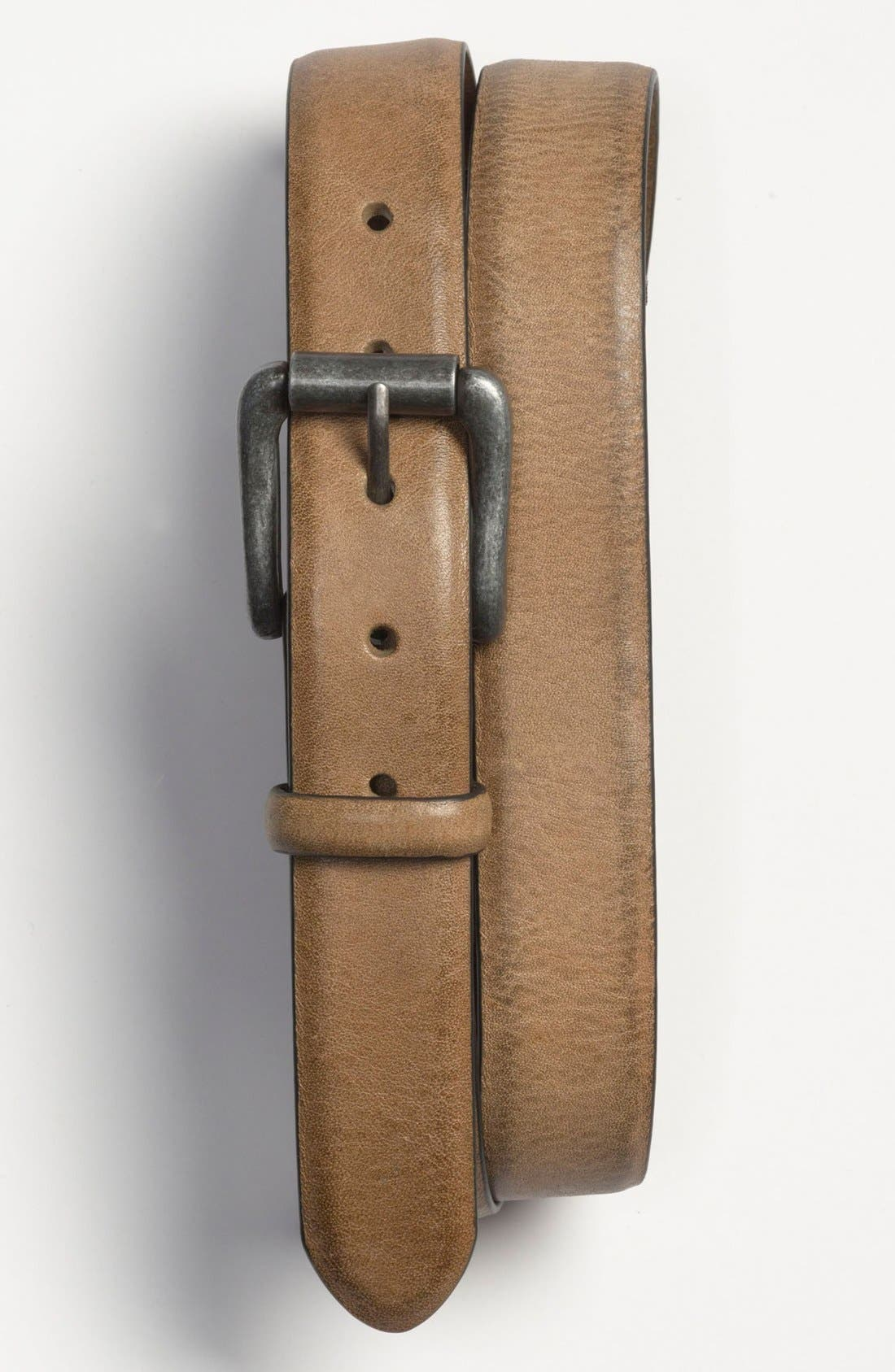Alternate Image 1 Selected - Bill Adler 1981 Leather Belt