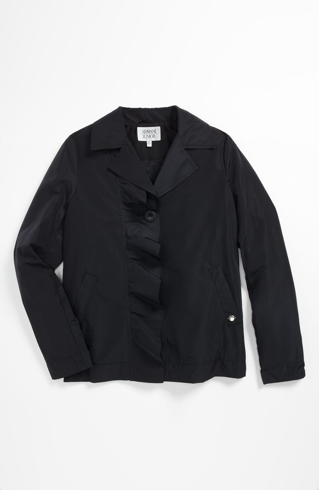Main Image - Armani Junior Jacket (Big Girls)