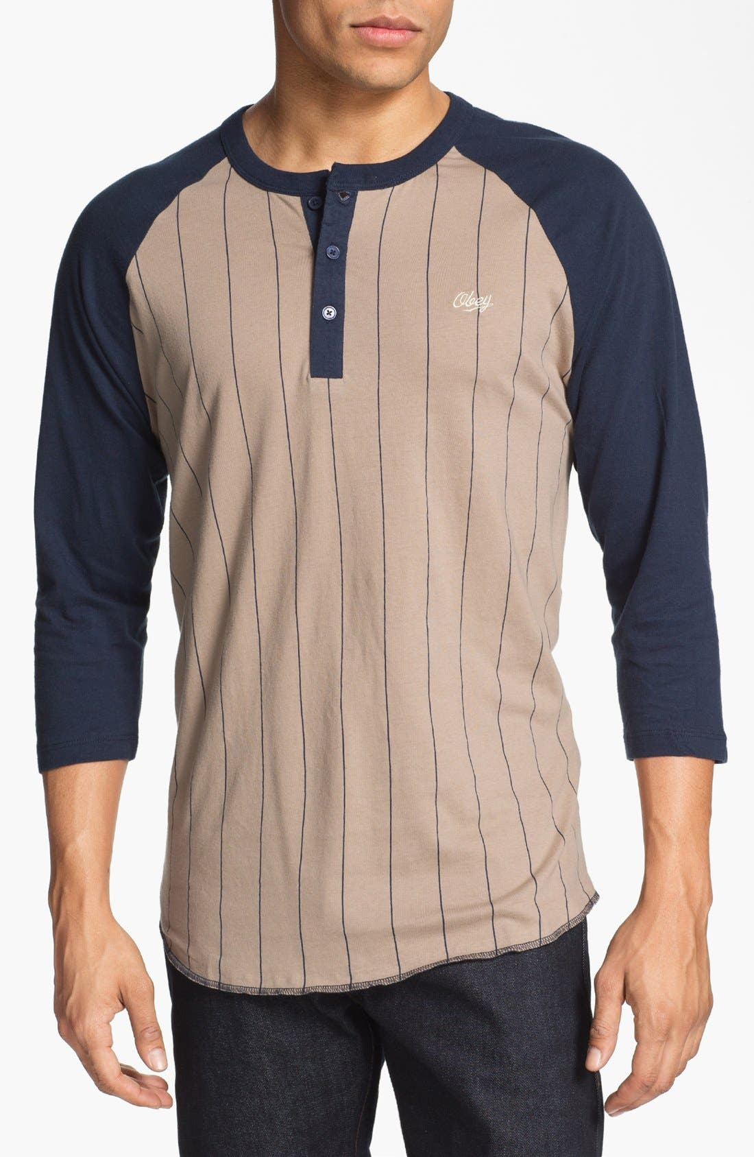 Main Image - Obey 'Outfield' Henley