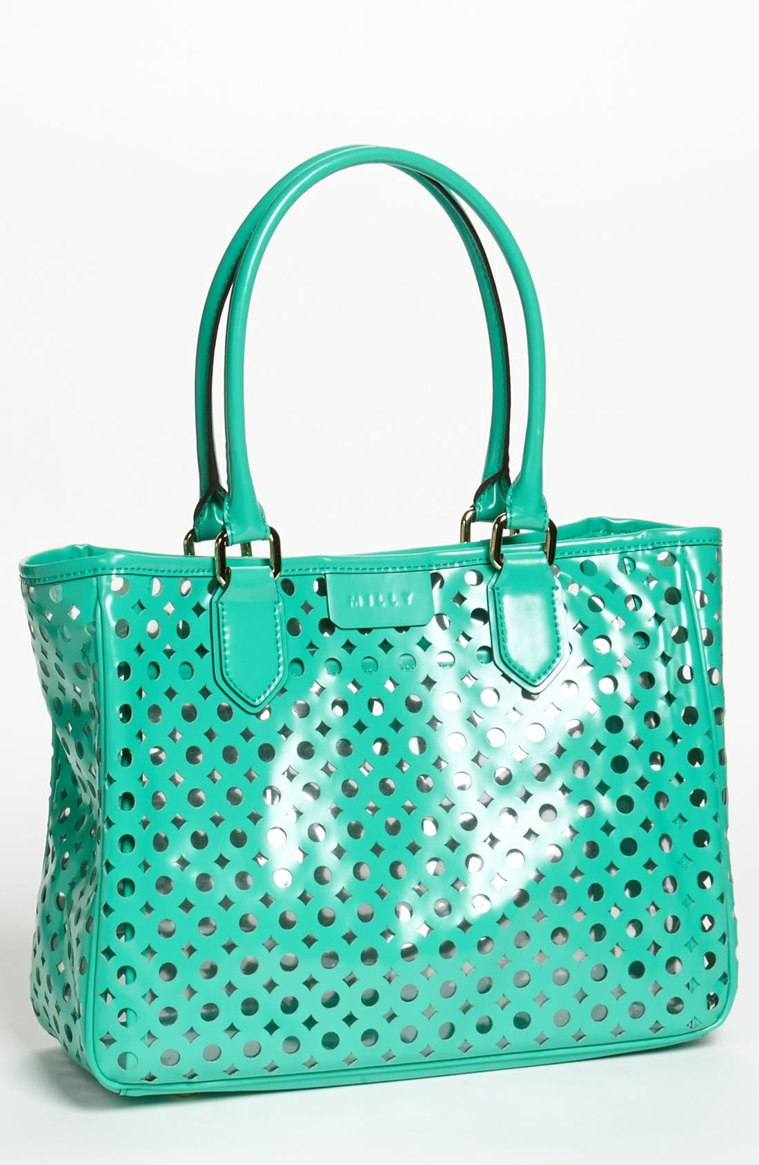 Alternate Image 1 Selected - Milly 'Addison' Patent Leather Tote