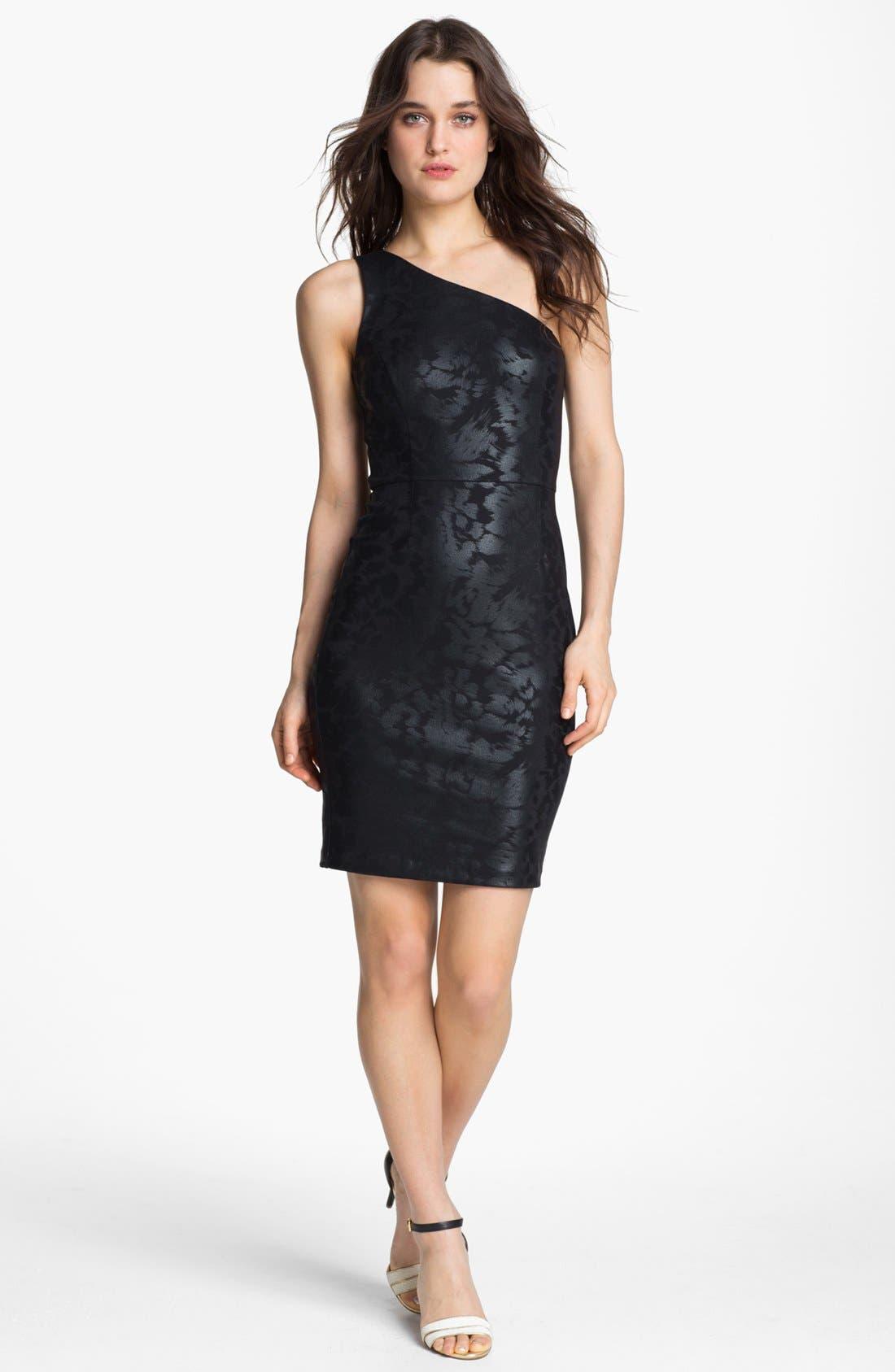 Alternate Image 1 Selected - ERIN erin fetherston One Shoulder Sheath Dress