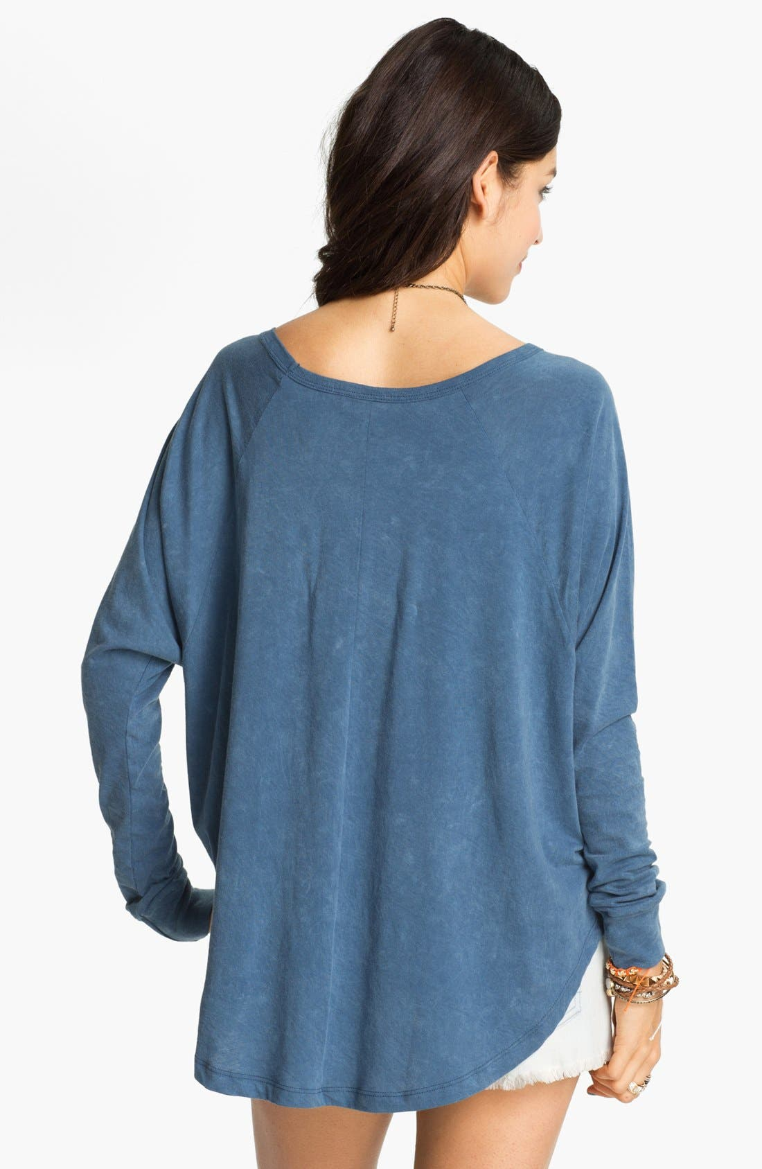 Alternate Image 2  - Project Social T Vintage Wash Batwing Top (Juniors)